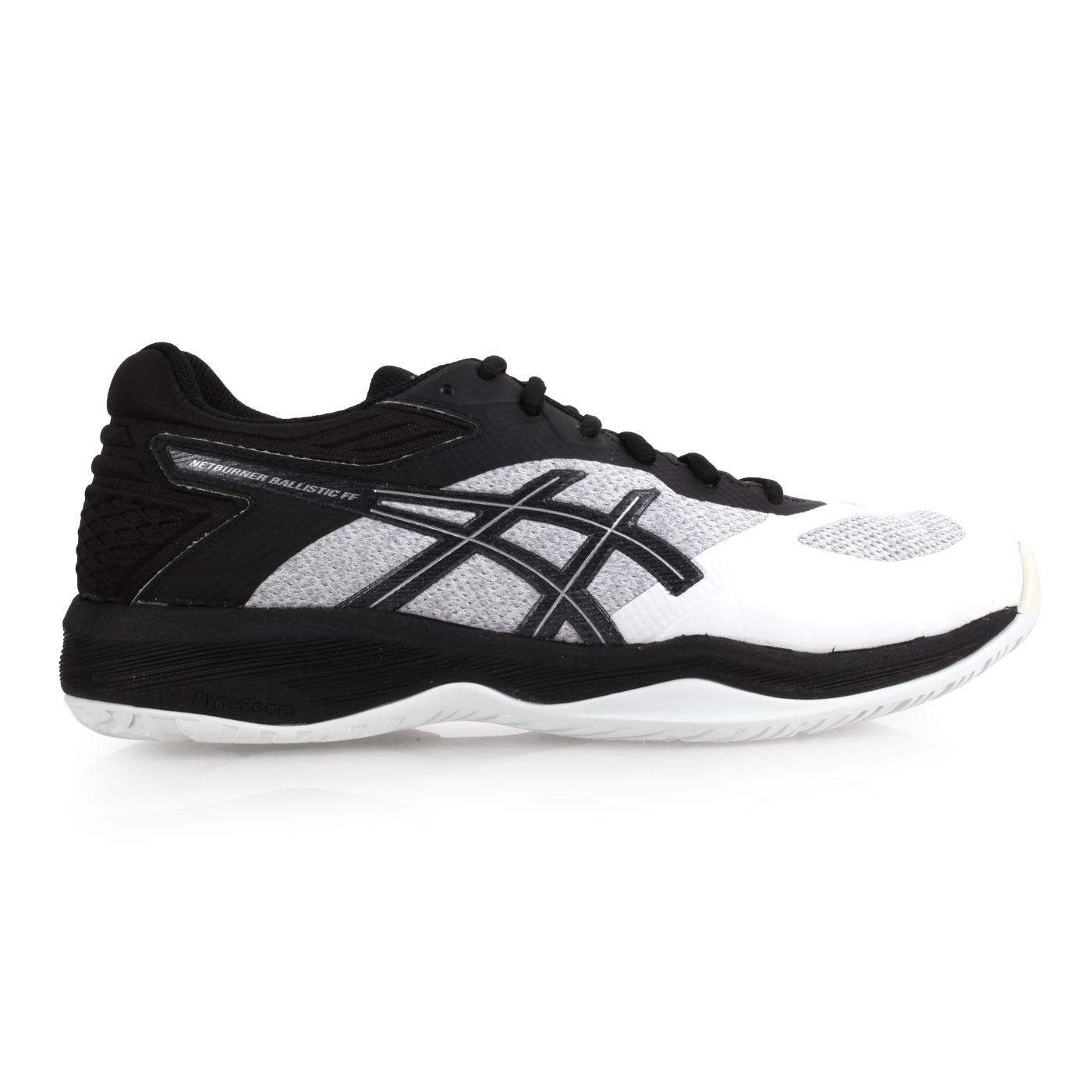ASICS 排羽球鞋  @NETBURNER BALLISTIC FF@1051A002-100 - 白灰黑