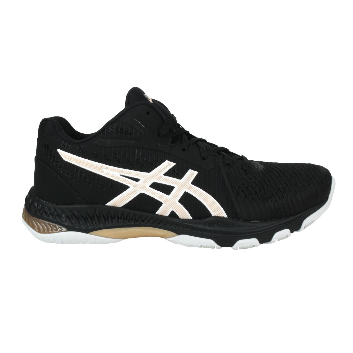 ASICS 男款排羽球鞋  @NETBURNER BALLISTIC FF MT 2@1051A042-003 - 黑金