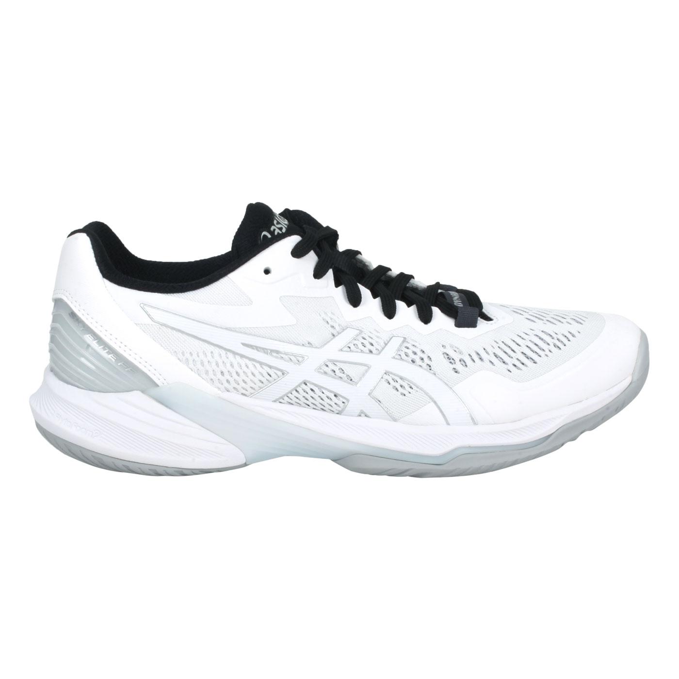 ASICS 特定-男款排羽球鞋  @SKY ELITE FF 2@1051A064-101 - 白銀黑