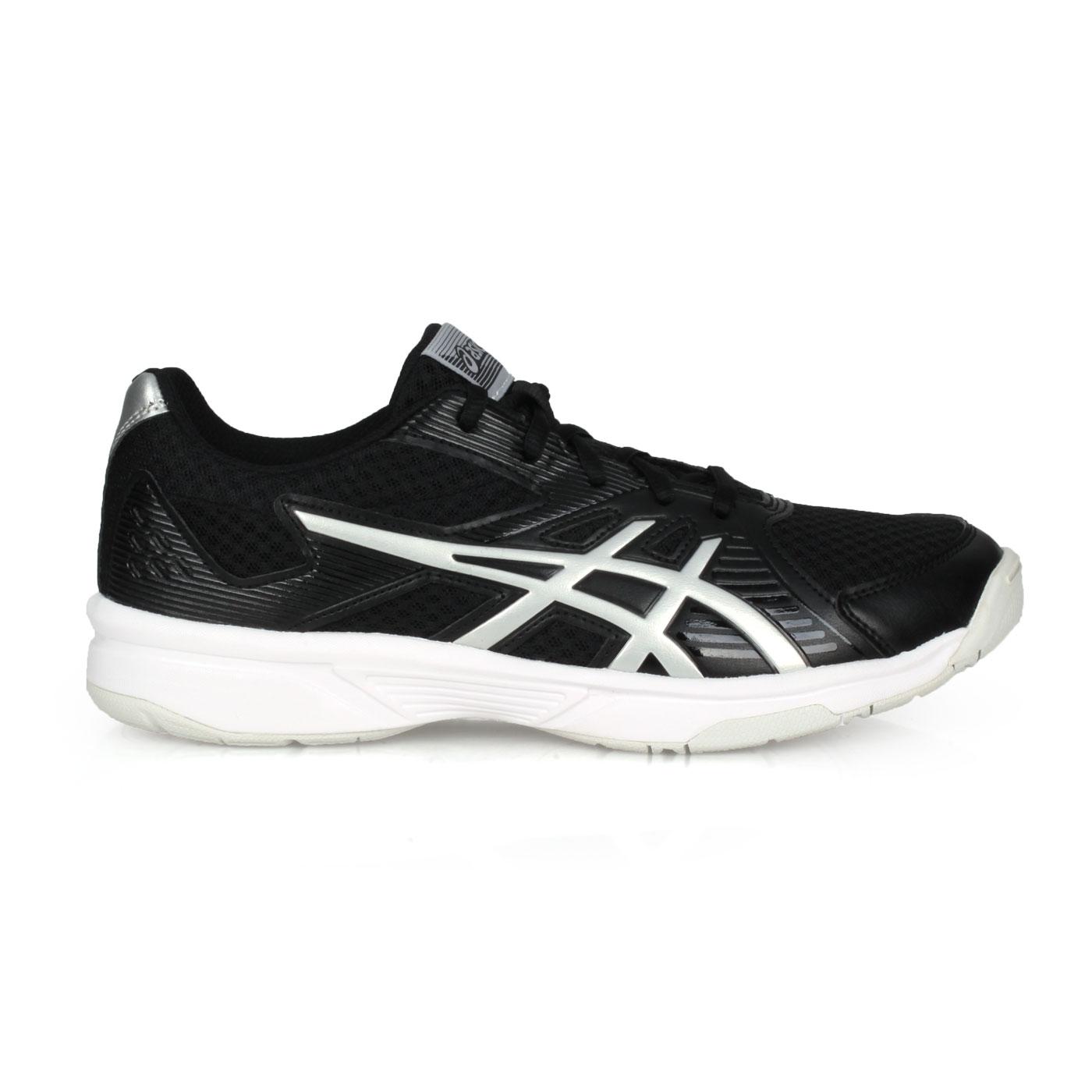 ASICS 男款排羽球鞋  @UPCOURT 3@1071A019-005 - 黑白