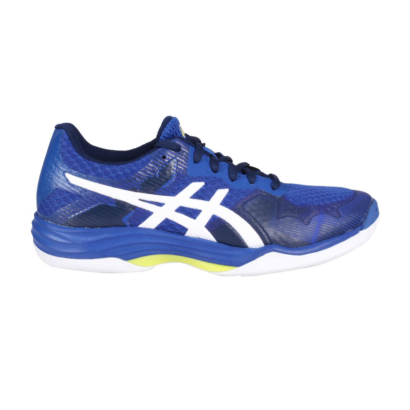 ASICS 女款排羽球鞋  @GEL-TACTIC@1072A035-103 - 藍白