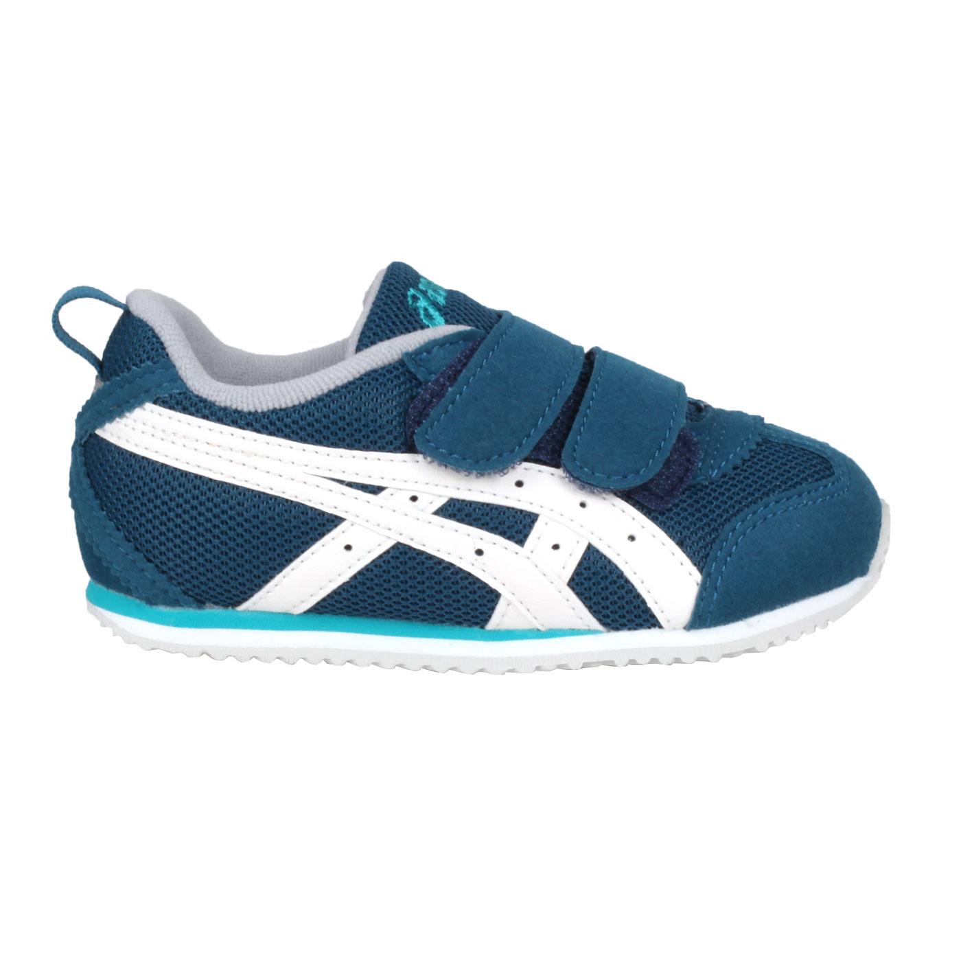 ASICS 小童運動鞋  @MEXICO NARROW BABY 4@1144A008-400 - 藍綠白