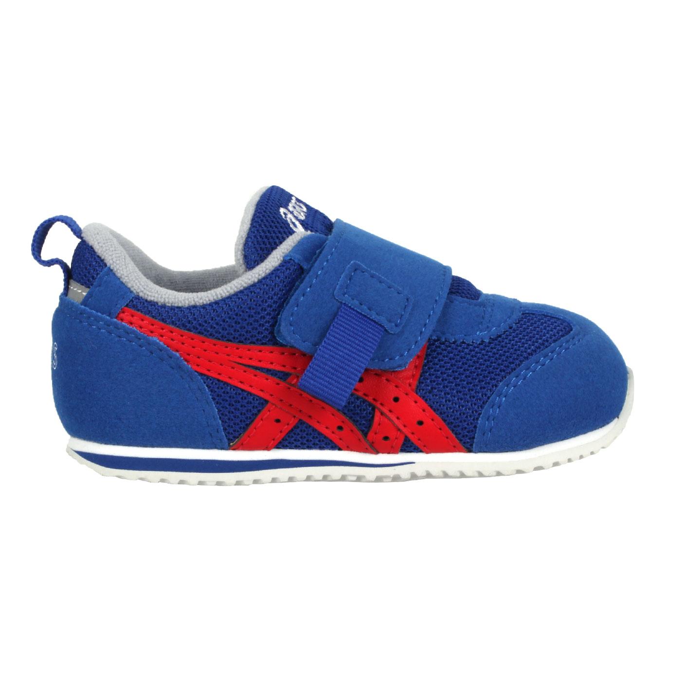 ASICS 小童休閒運動鞋  @IDAHO BABY OP@1144A158-400 - 藍紅