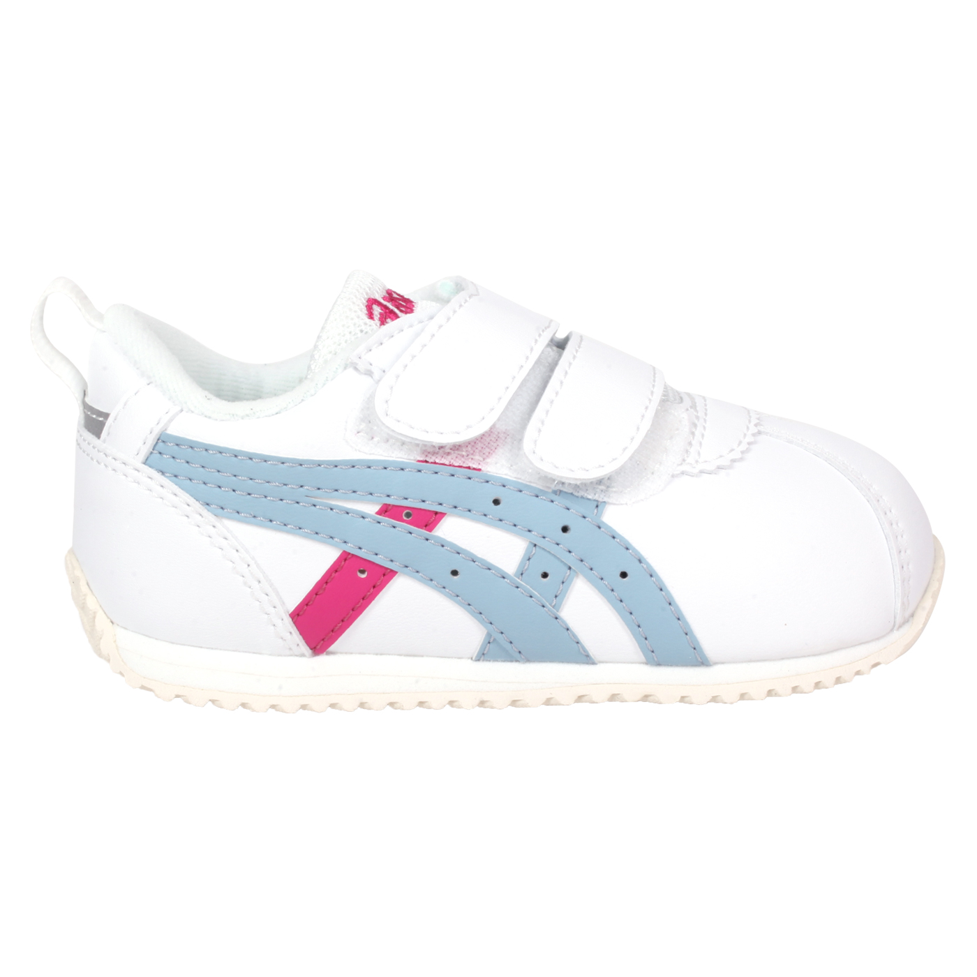 ASICS 小童運動鞋  @CORSAIR BABY SL@1144A210-100 - 白桃紅淺藍