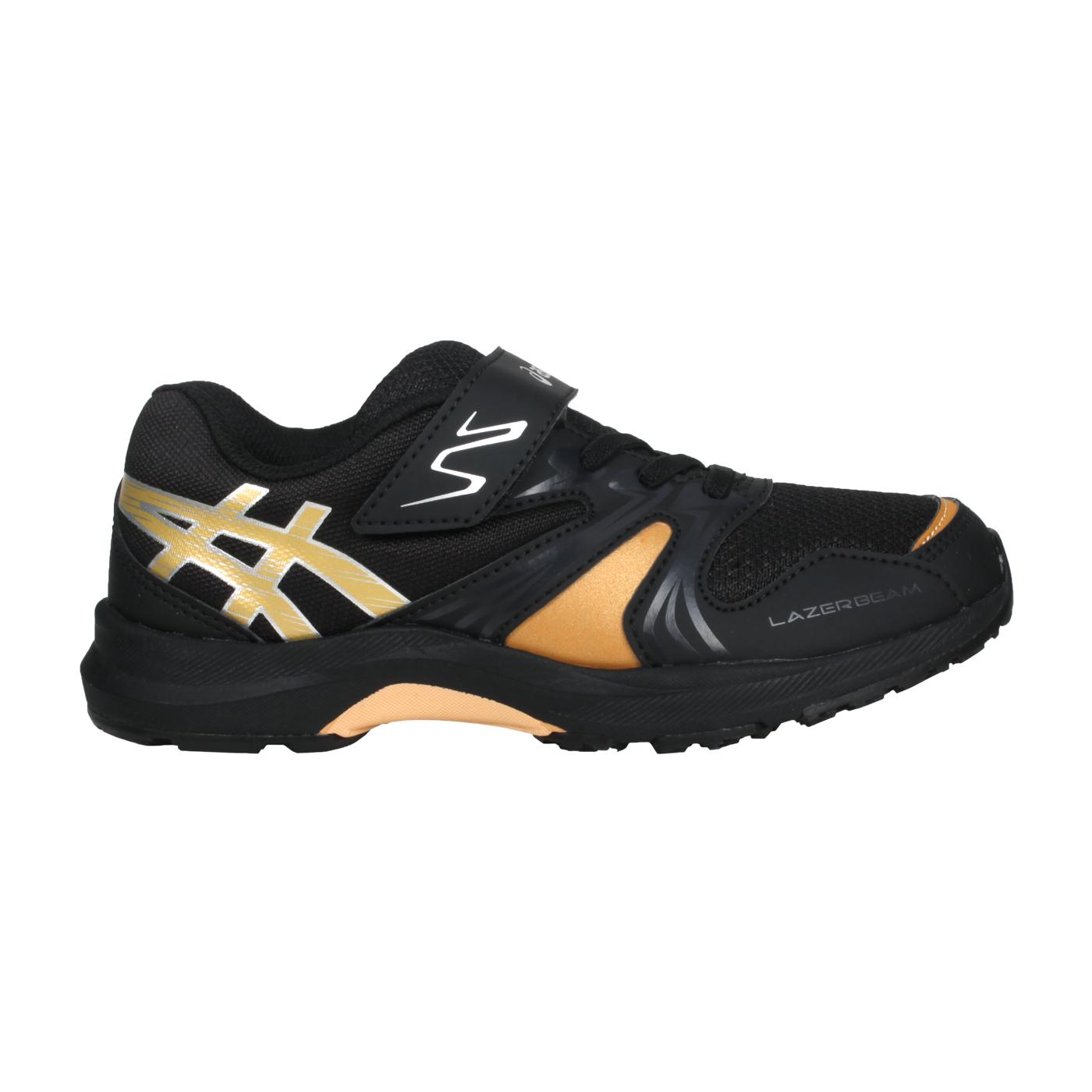 ASICS 中童運動鞋  @LAZERBEAM KA-MG@1154A109-001 - 黑金銀