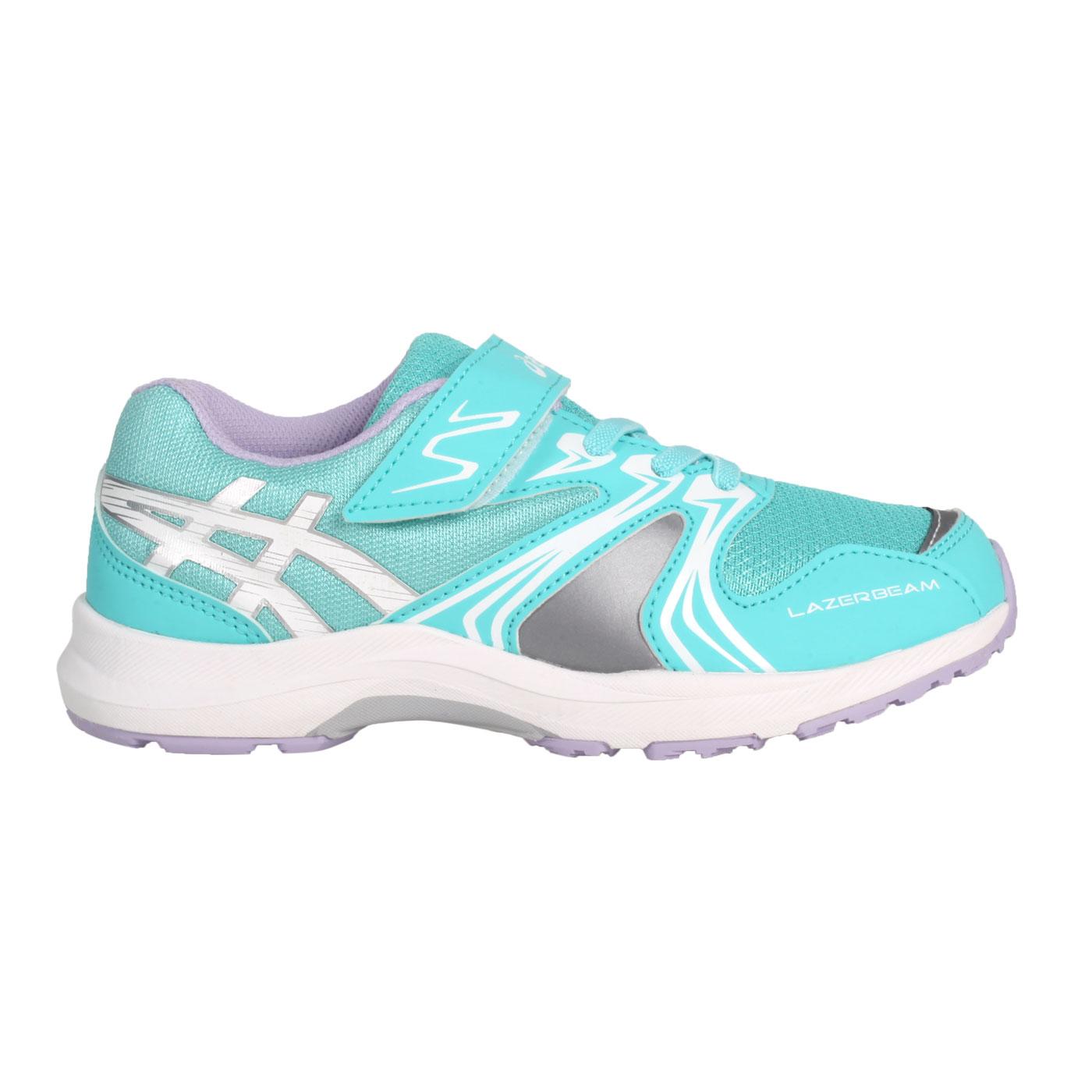 ASICS 中童運動鞋  @LAZERBEAM KA-MG@1154A109-404 - 湖水綠白紫