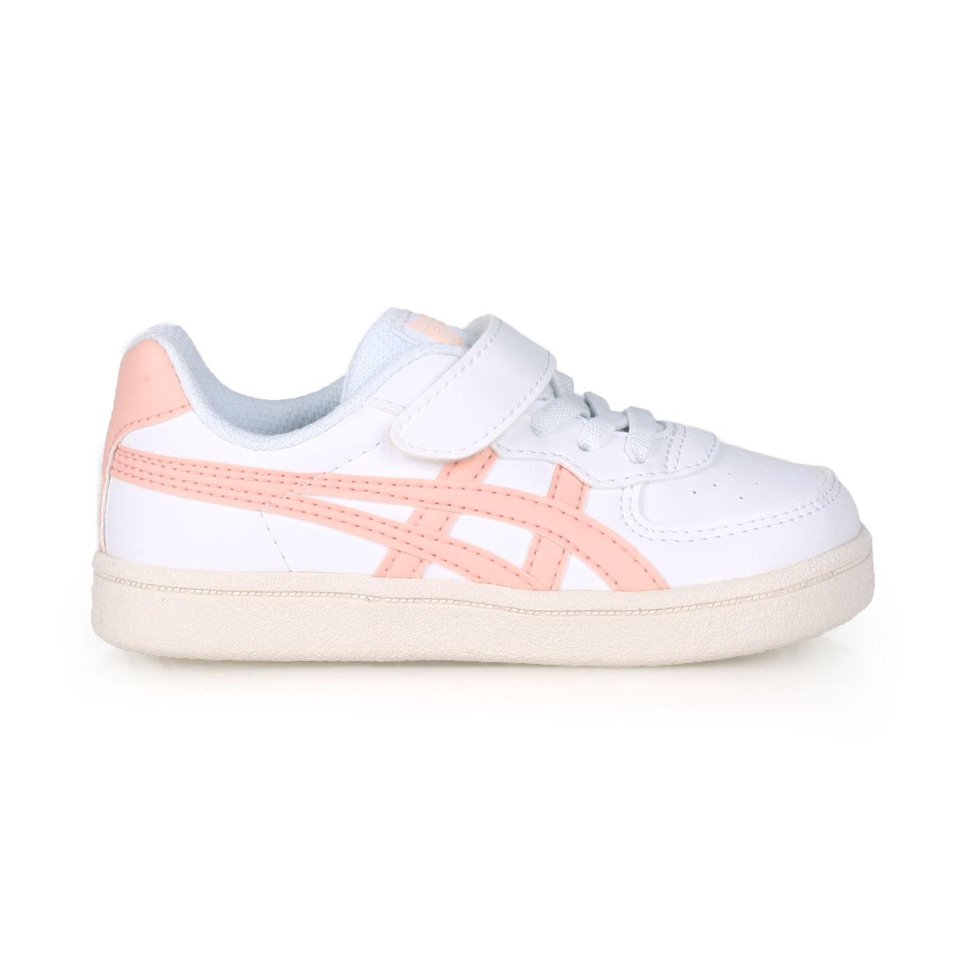 ASICS 小童休閒運動鞋  @GSM TS@1184A023-100 - 白粉橘