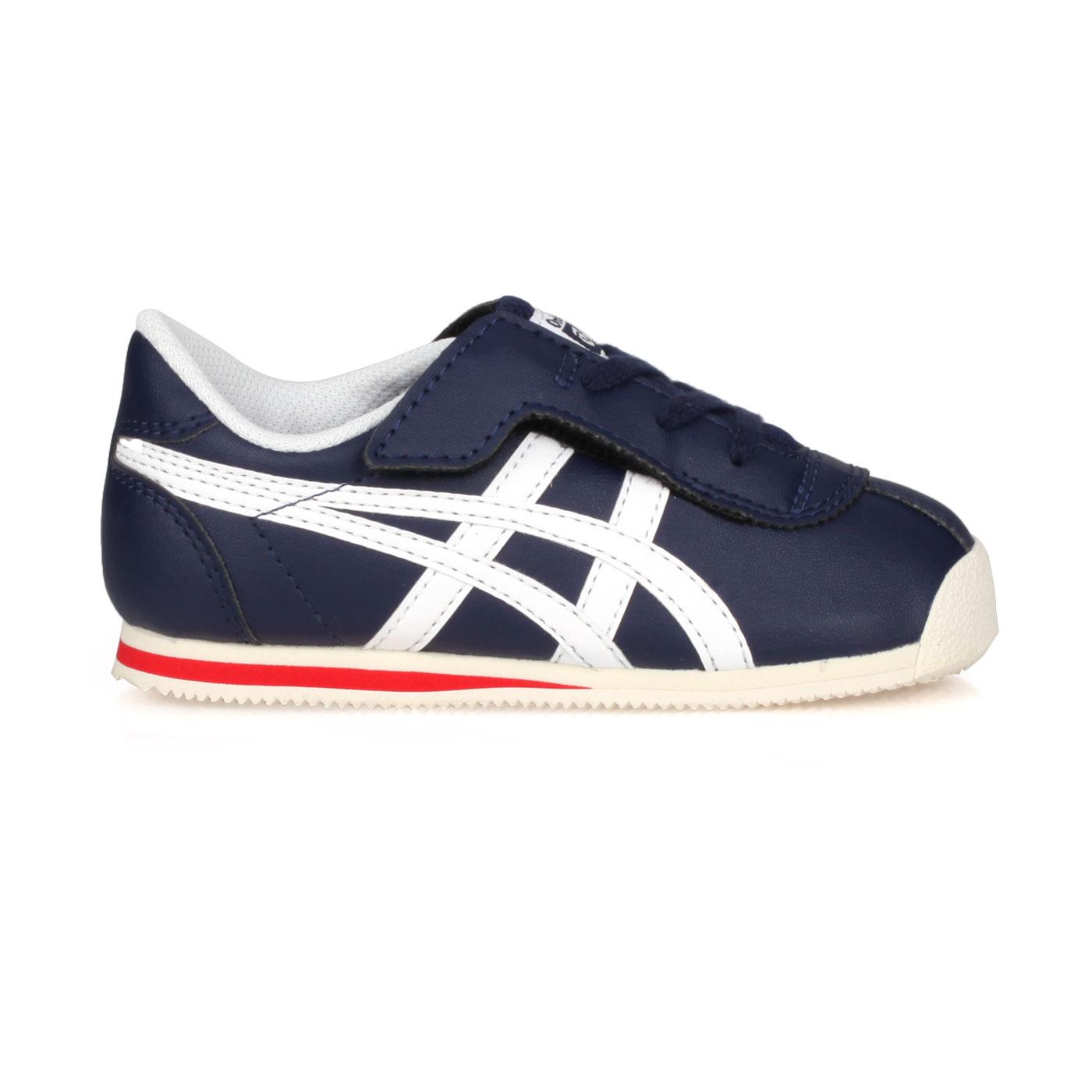 ASICS 小童運動鞋  @TIGER CORSAIR TS@1184A050-400 - 丈青白紅