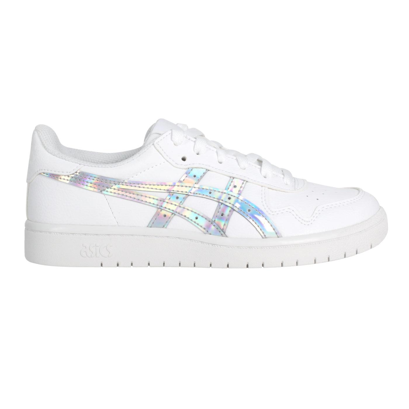 ASICS 女款運動鞋  @JAAN S@1202A195-100 - 白銀