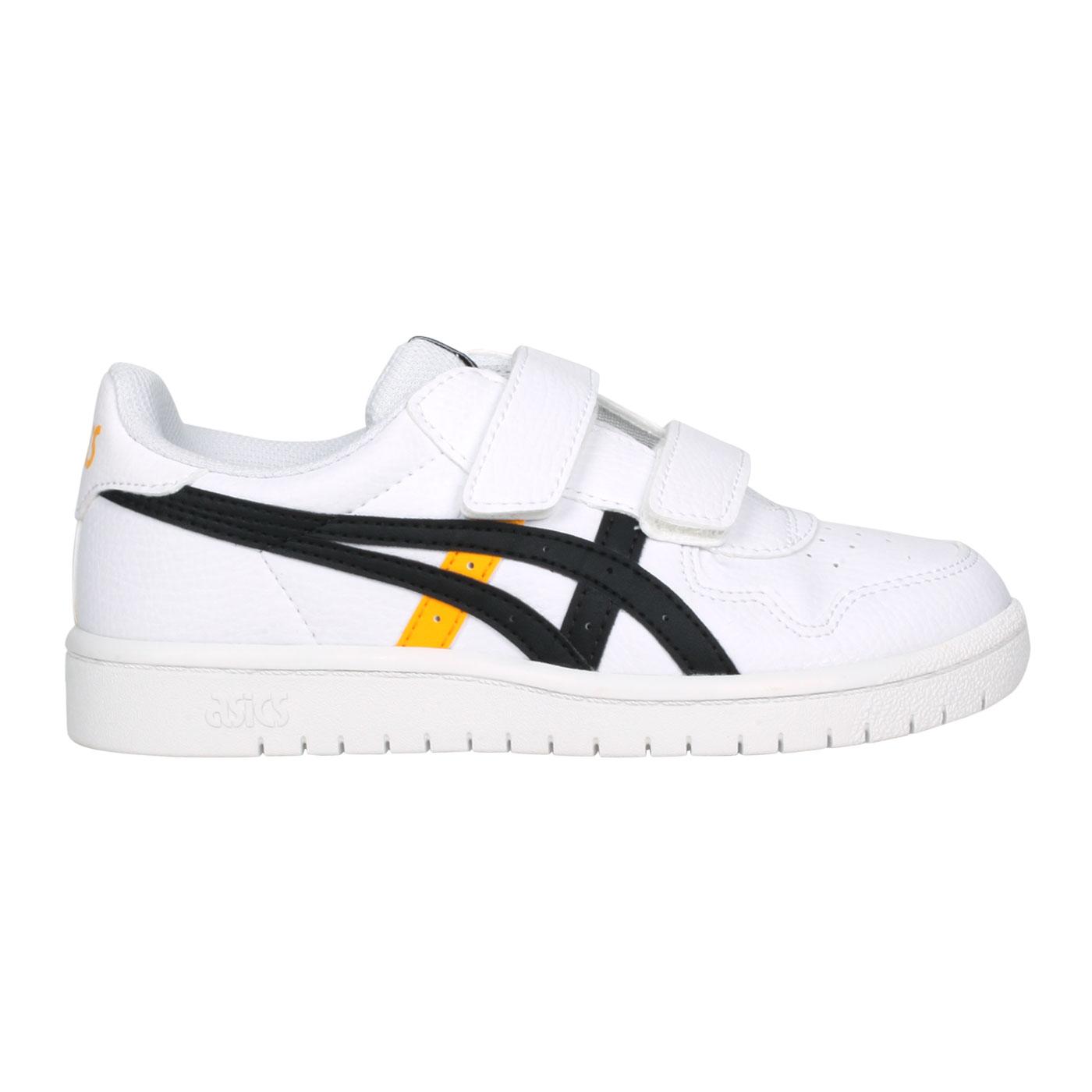 ASICS 大童運動鞋   @JAPAN S PS@1204A008-102 - 白黑黃