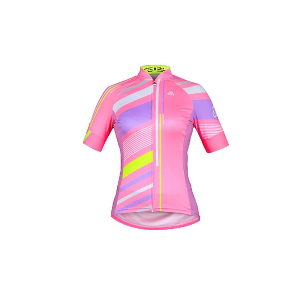 SOOMOM 女款凱特短車衣 1292601 - 粉紅綠