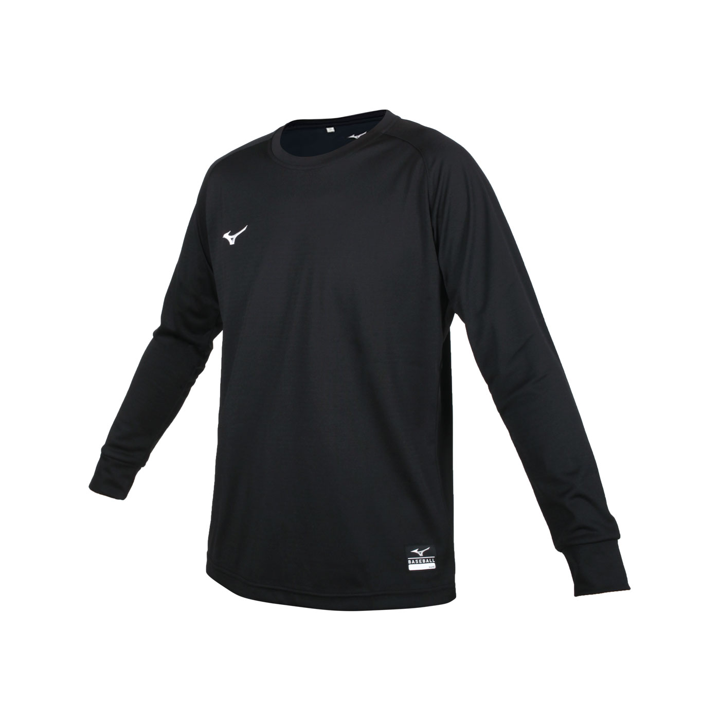 MIZUNO 男款長袖T恤 12TC0L3109 - 黑白