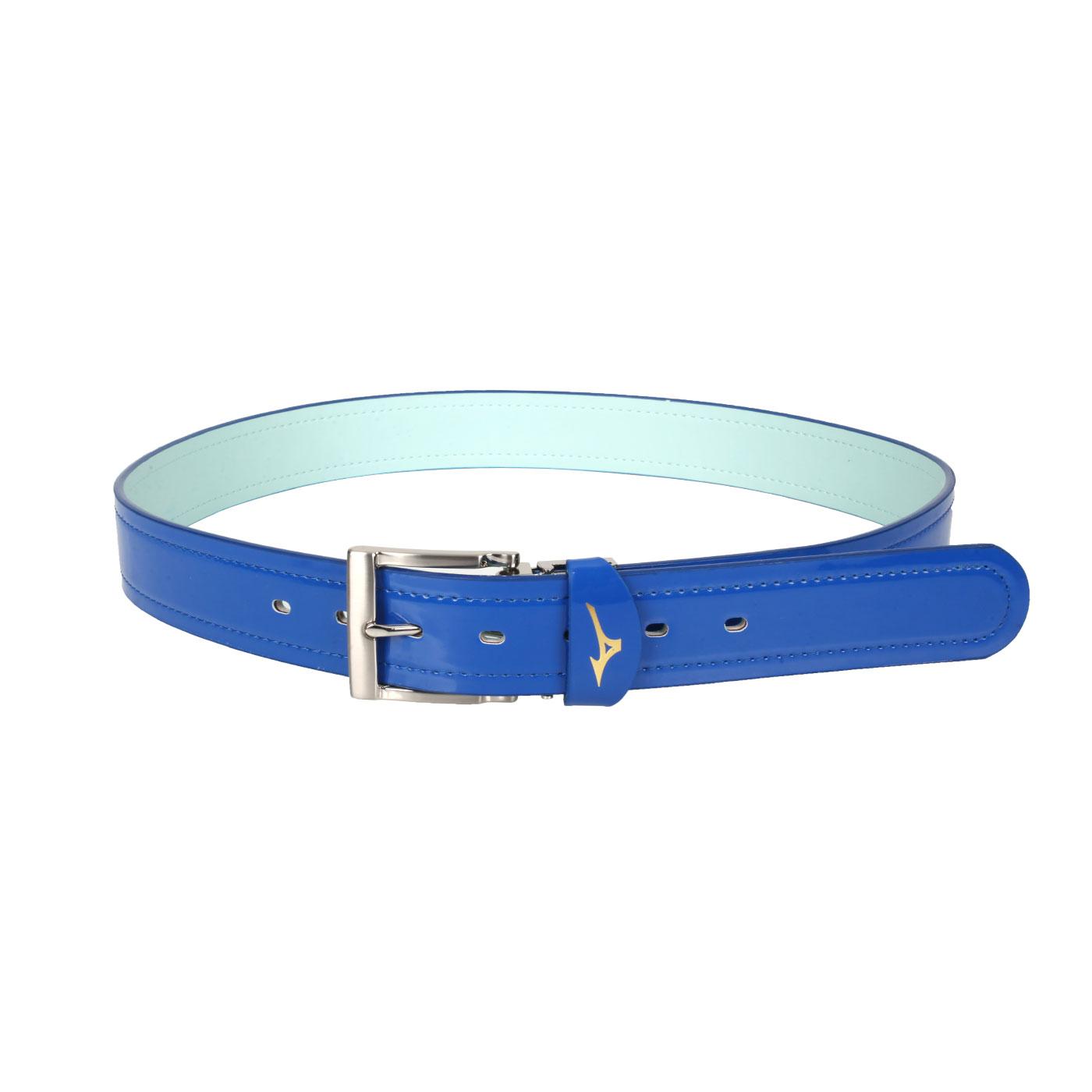 MIZUNO 棒壘皮帶 12TY0V0022 - 藍白
