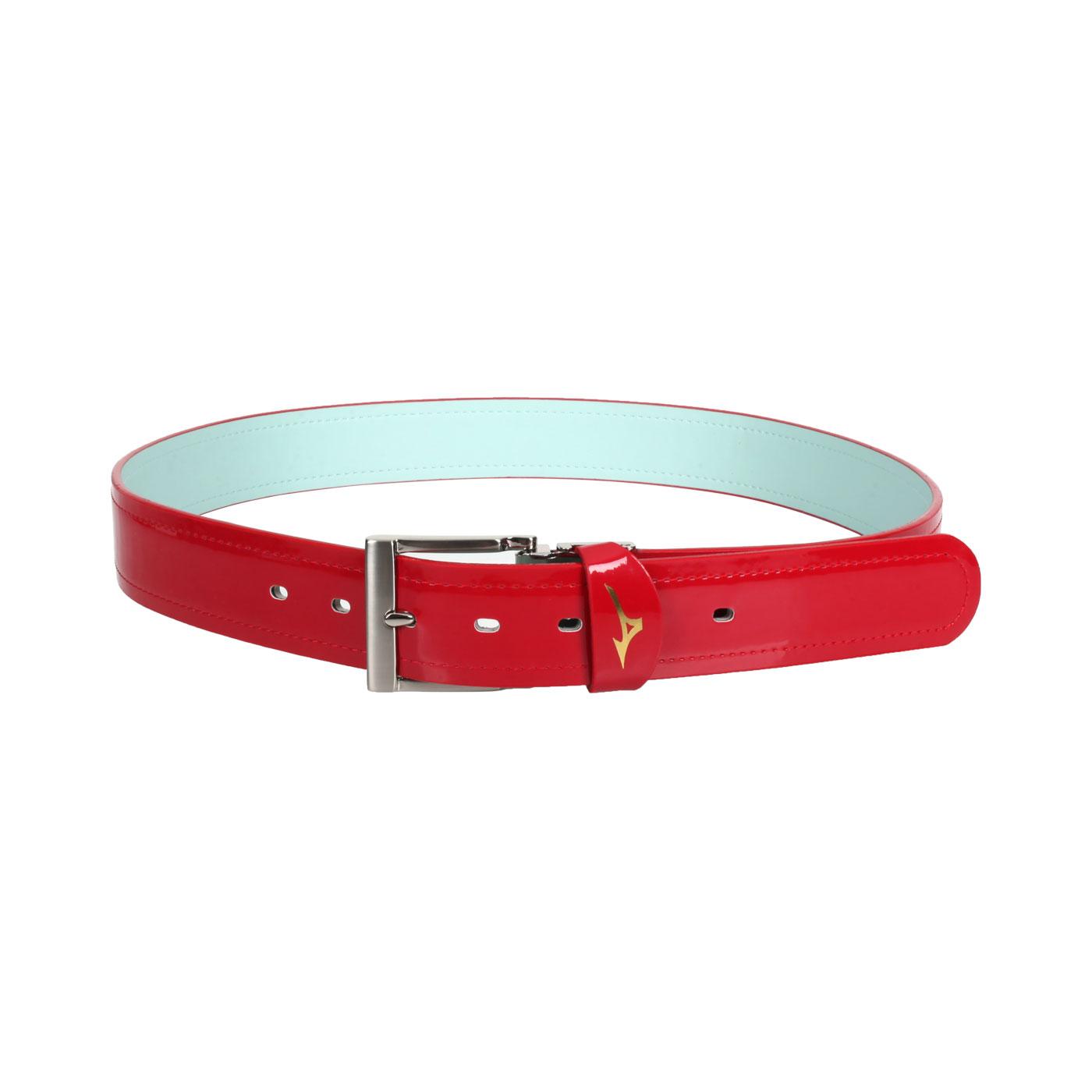 MIZUNO 棒壘皮帶 12TY0V0062 - 紅綠