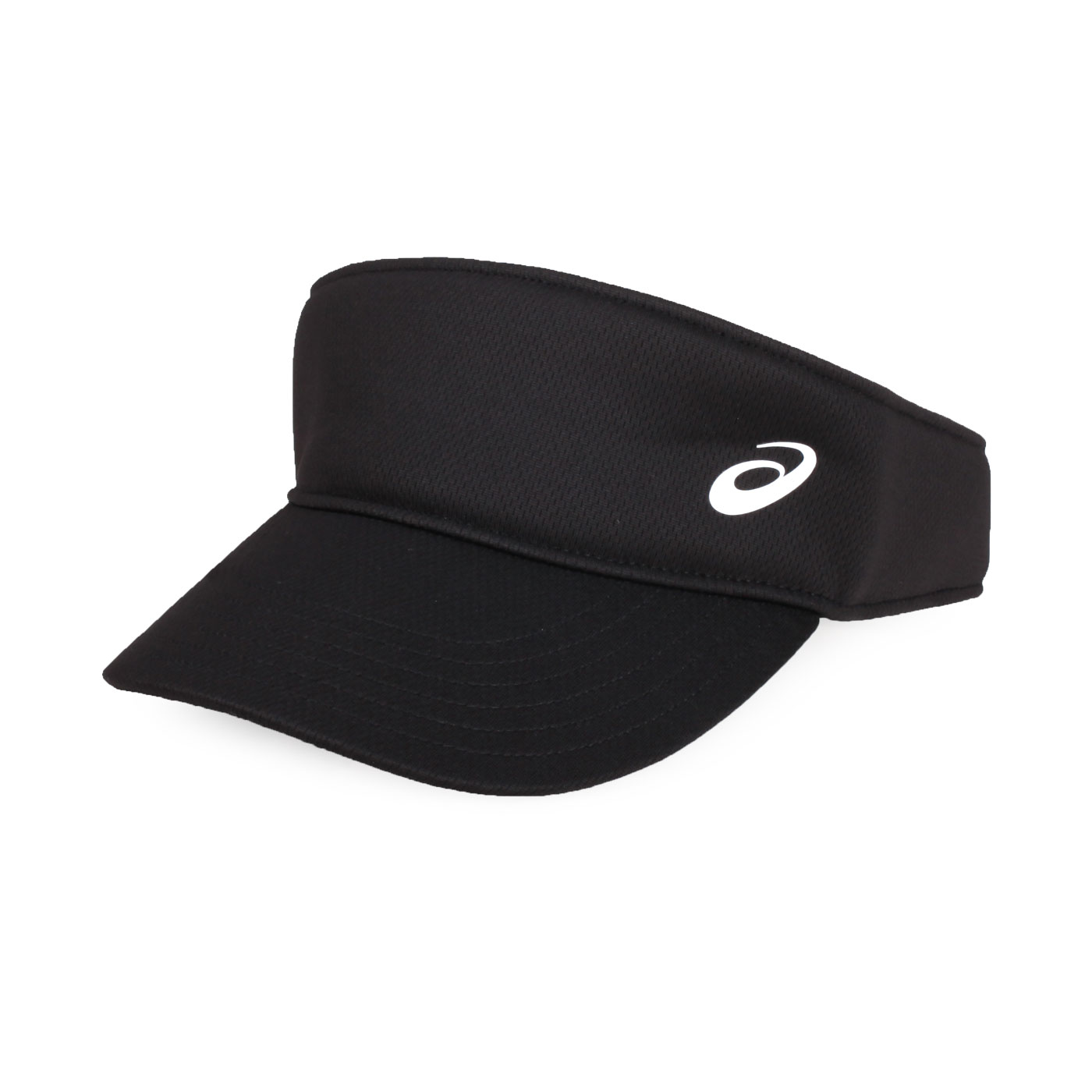 ASICS 運動遮陽帽 155941-001 - 黑白