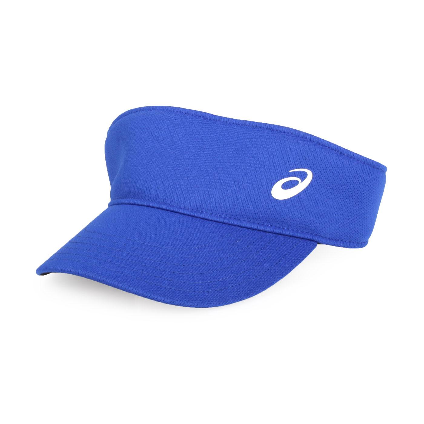 ASICS 運動遮陽帽 155941-001 - 藍白