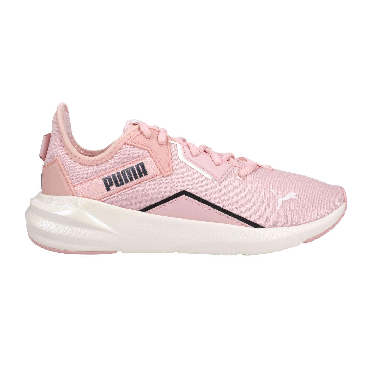 PUMA 女款休閒運動鞋  @Platinum Shimmer Wn's@19377201 - 淺粉黑白