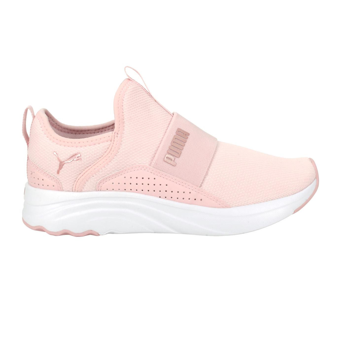 PUMA 女款休閒運動鞋  @Softride Sophia Slip-On Wn's@19516103 - 粉橘玫瑰金