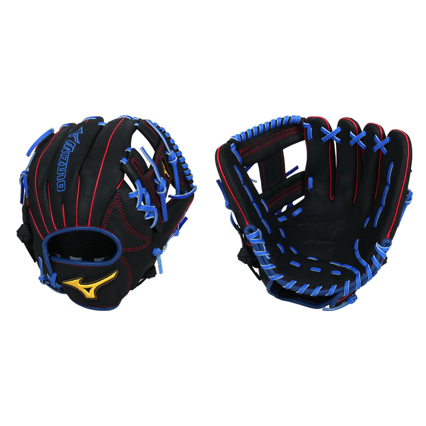 MIZUNO 壘球手套 1ATGS21800-09 - 黑藍紅黃