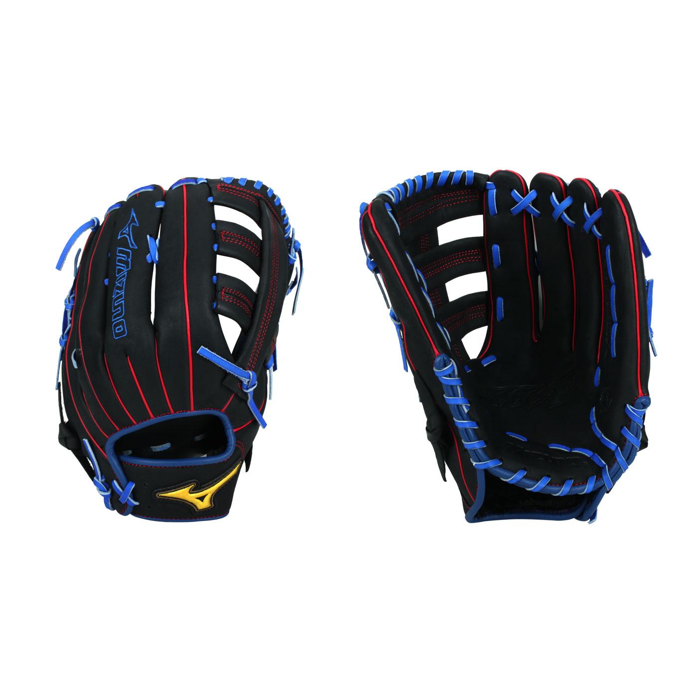 MIZUNO 壘球手套 1ATGS21890-09 - 黑藍紅黃