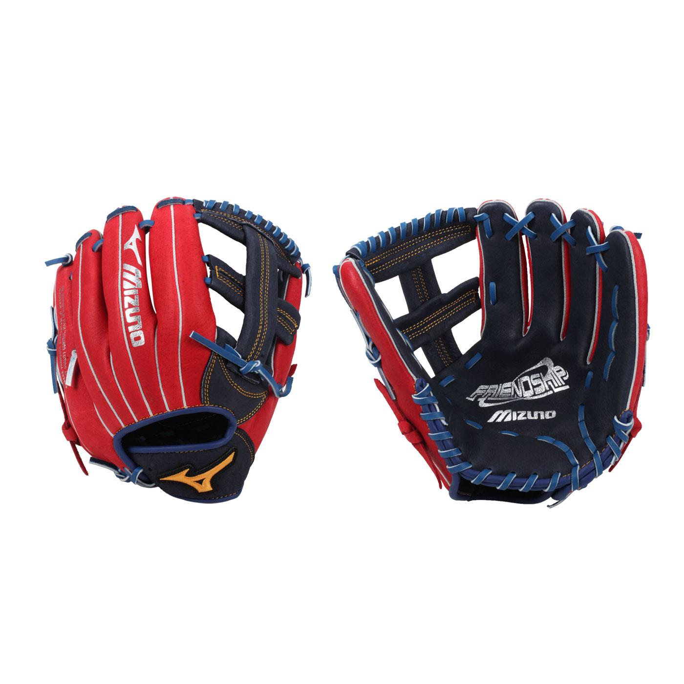 MIZUNO 壘球手套 1ATGS21900-2962 - 紅丈青黃