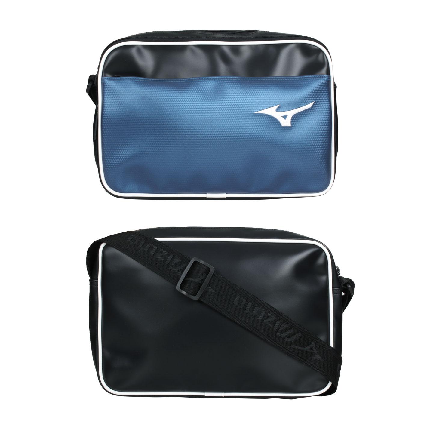 MIZUNO 側肩袋 1FTD170309 - 藍白黑