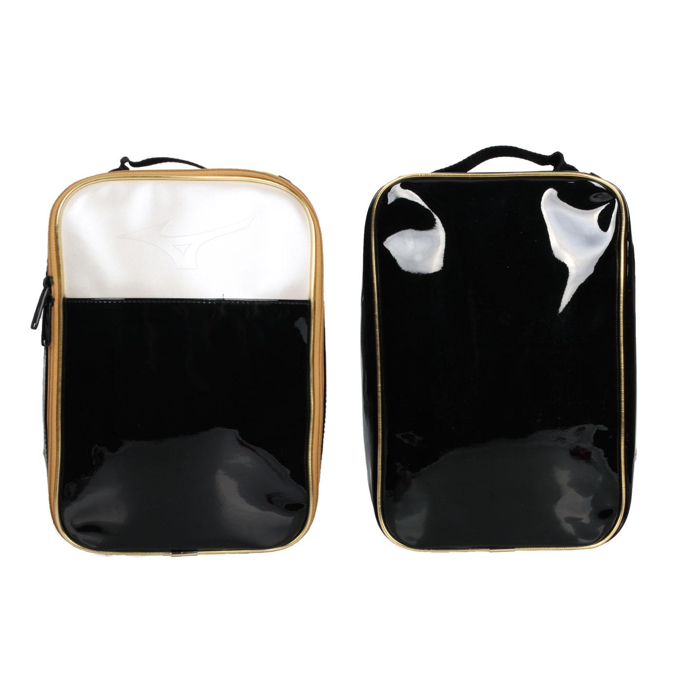 MIZUNO 鞋袋 1FTK131309 - 黑金銀