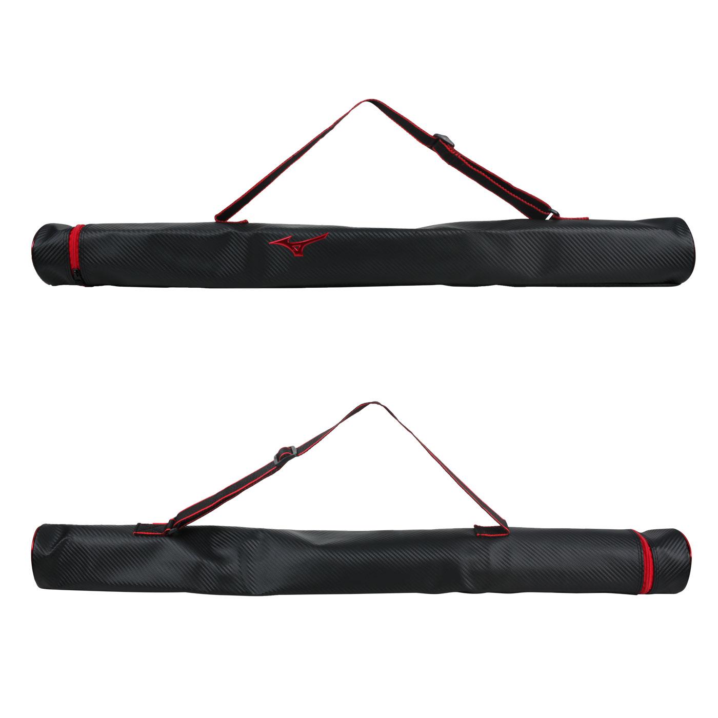 MIZUNO 單支裝球棒袋 1FTT063409 - 黑紅
