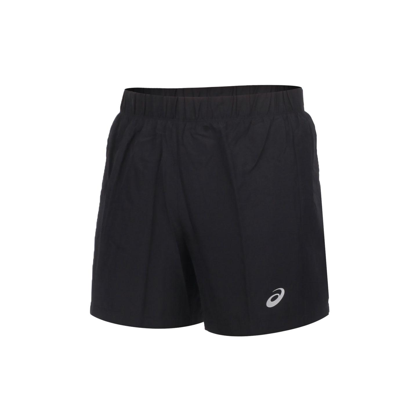ASICS 男款片假名短褲 2011A952-002 - 黑銀
