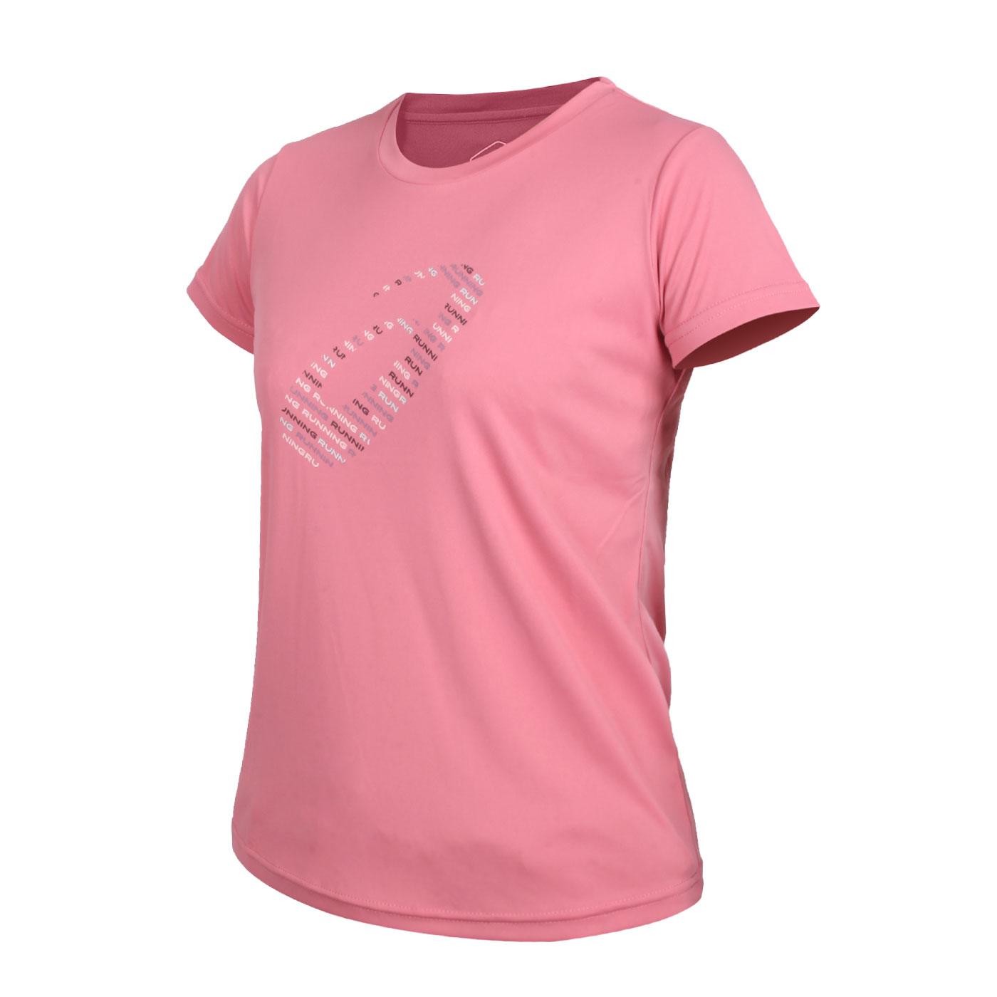 ASICS 女款短袖T恤 2012C345-700 - 粉紅銀
