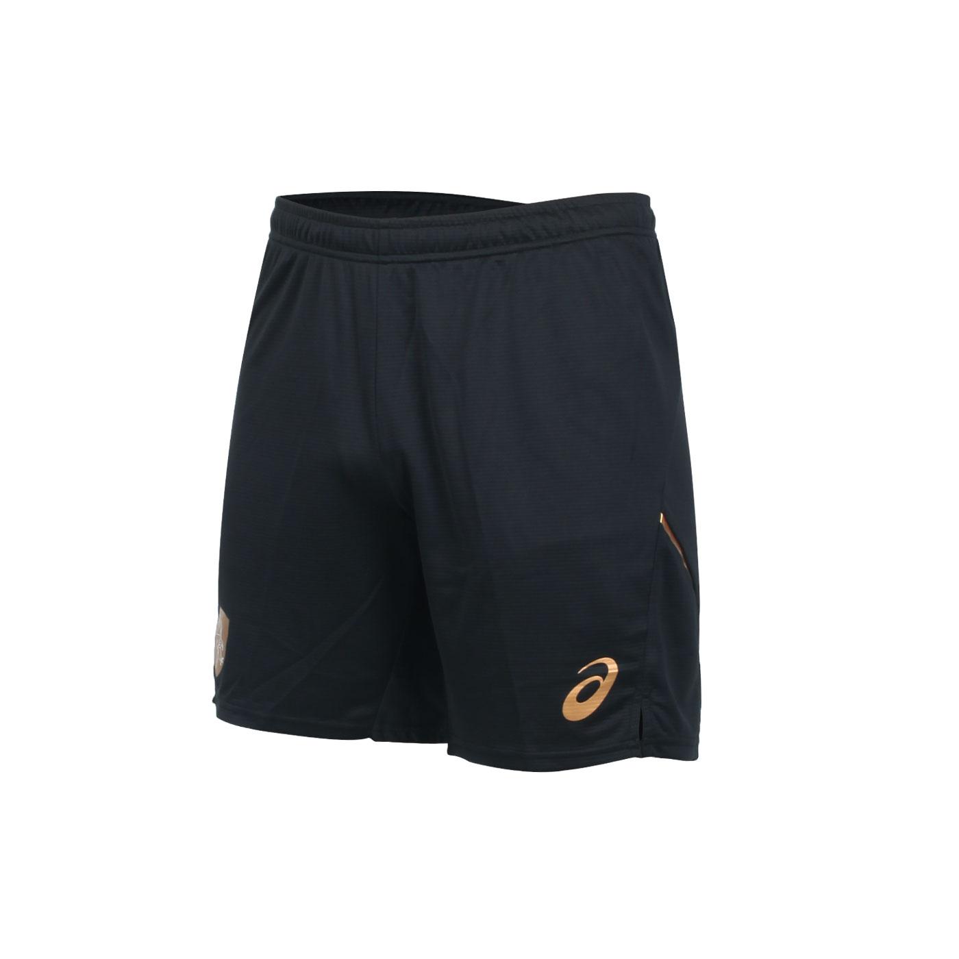 ASICS 男款針織短褲 2051A248-001 - 黑金