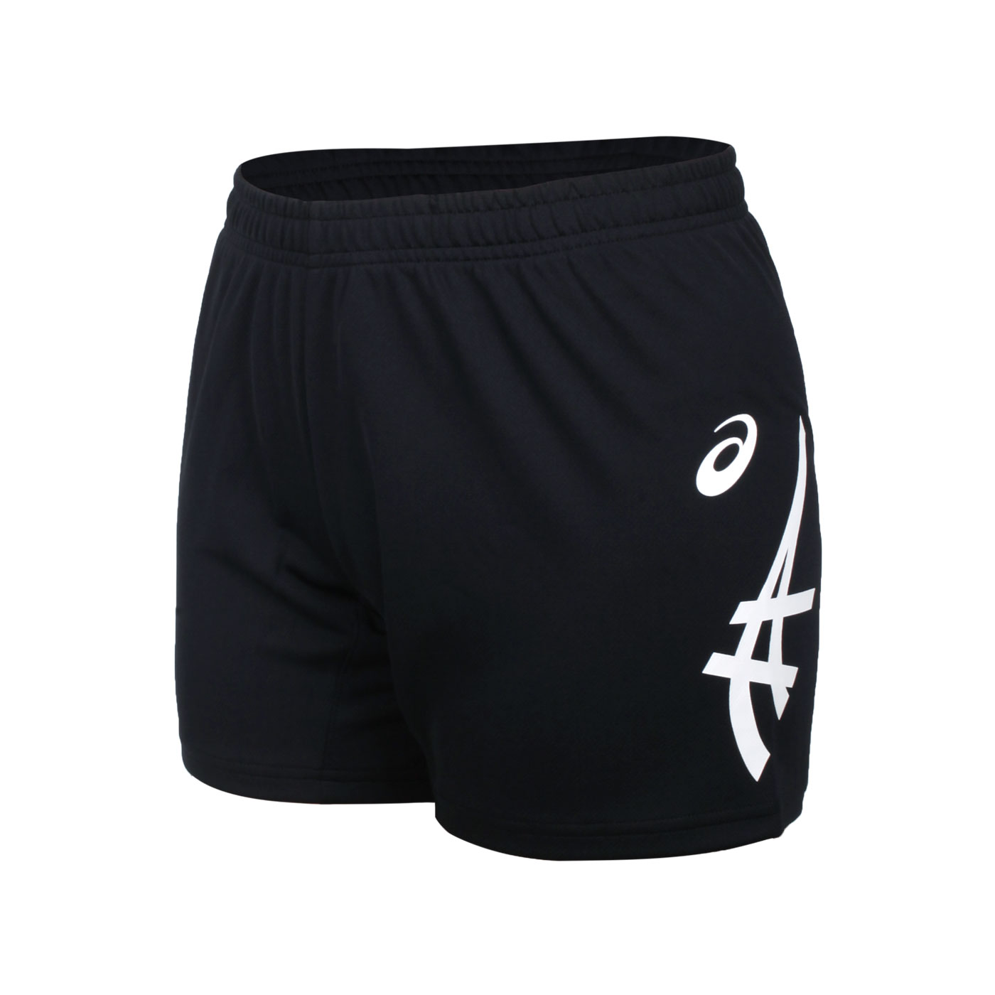 ASICS 女款針織短褲 2052A302-002 - 黑白