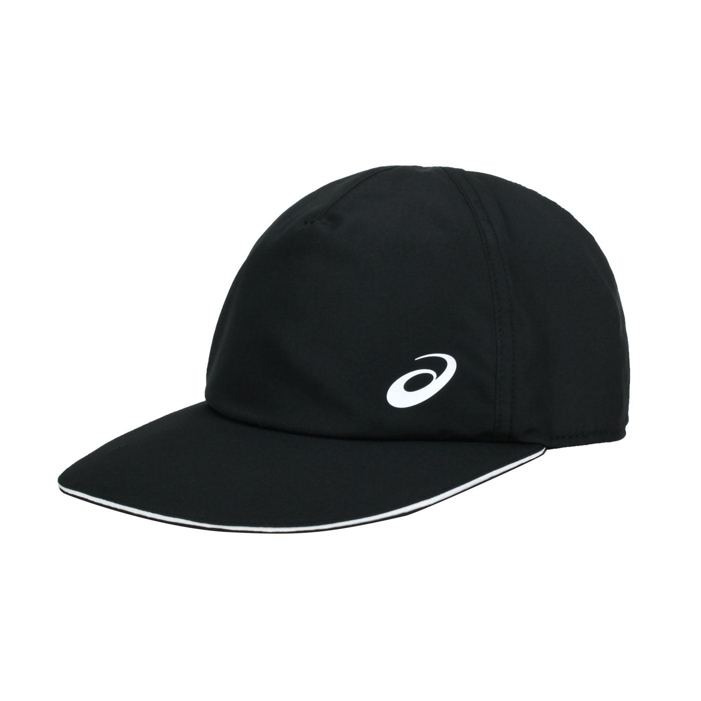 ASICS 平織帽 3043A048-002 - 黑白