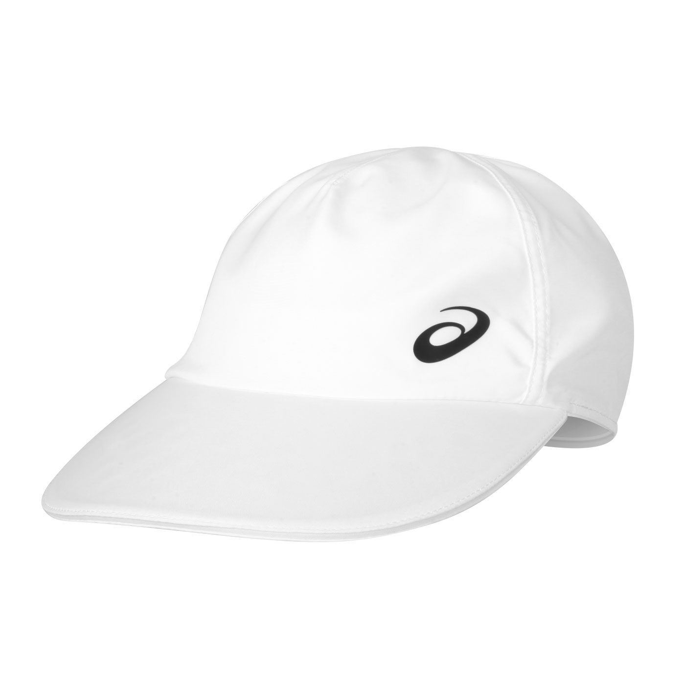 ASICS 平織帽 3043A048-101 - 白黑