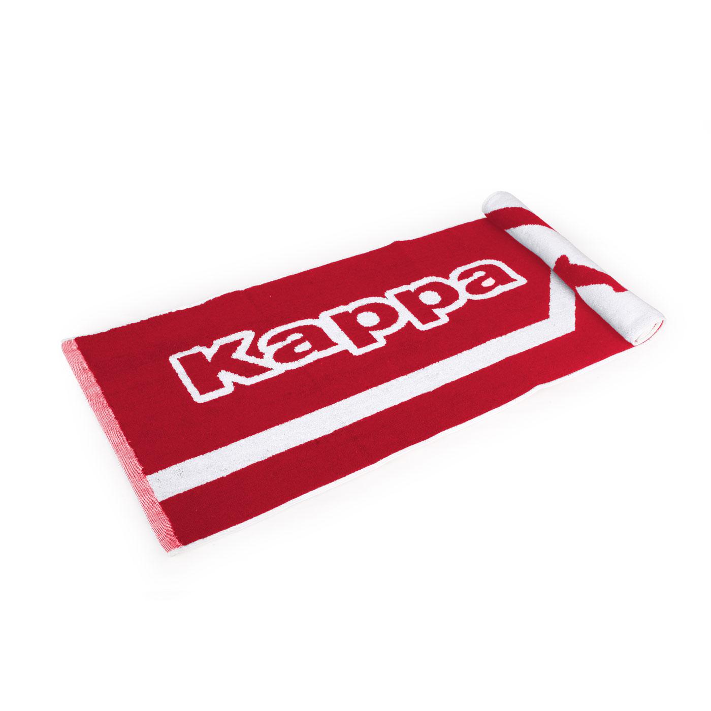 KAPPA 運動毛巾 304TTXD-915 - 紅白