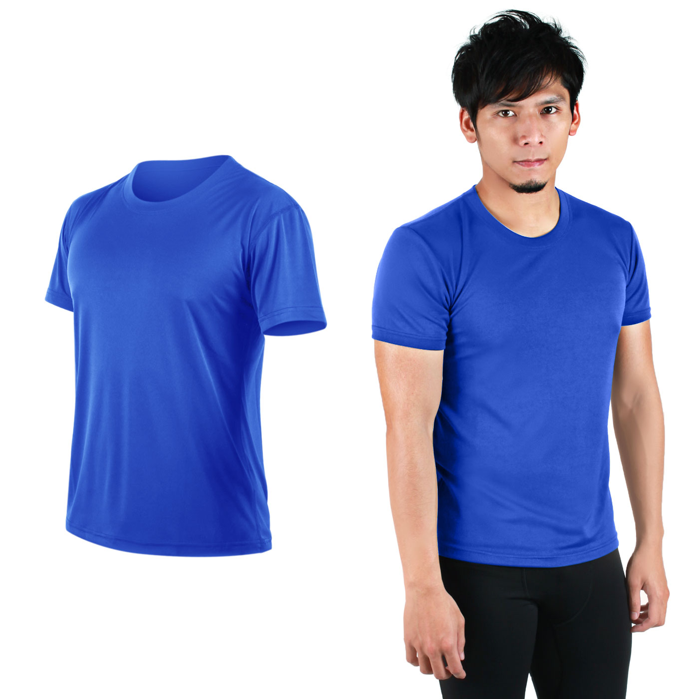 HODARLA FLARE 100 吸濕排汗衫3108301 - 藍