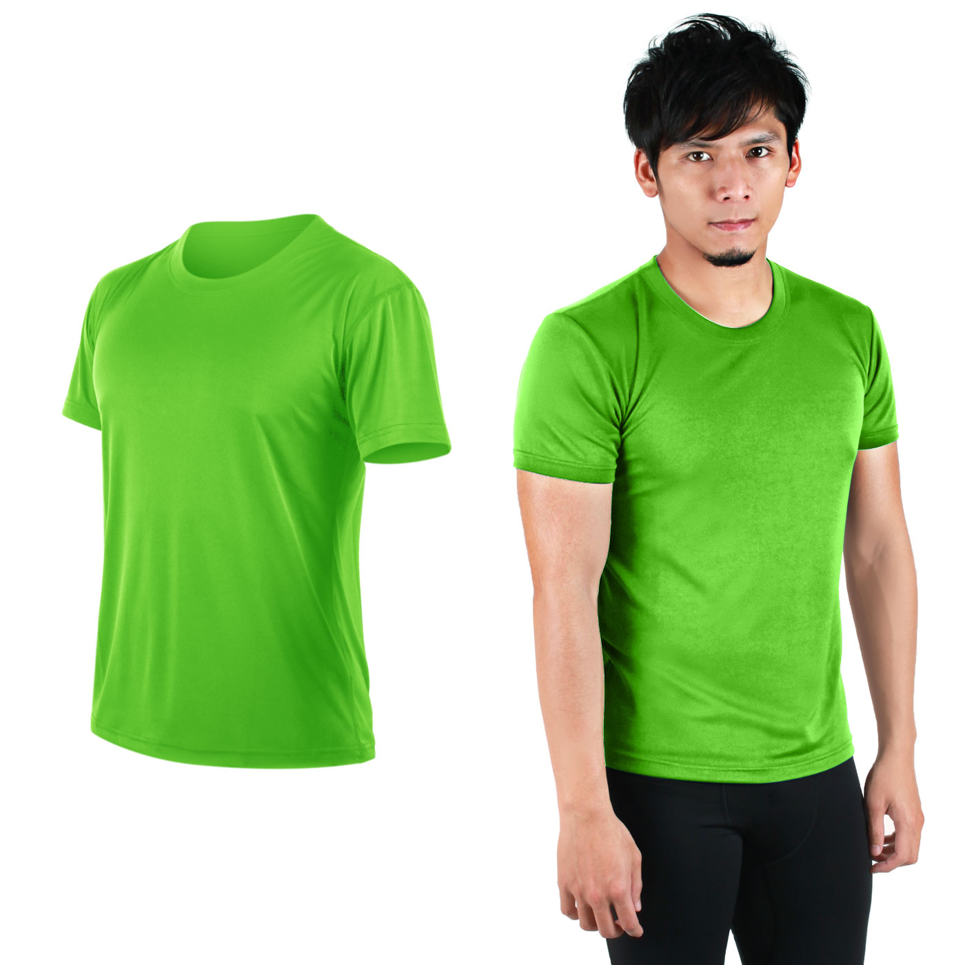 HODARLA FLARE 100 吸濕排汗衫3108301 - 翠綠