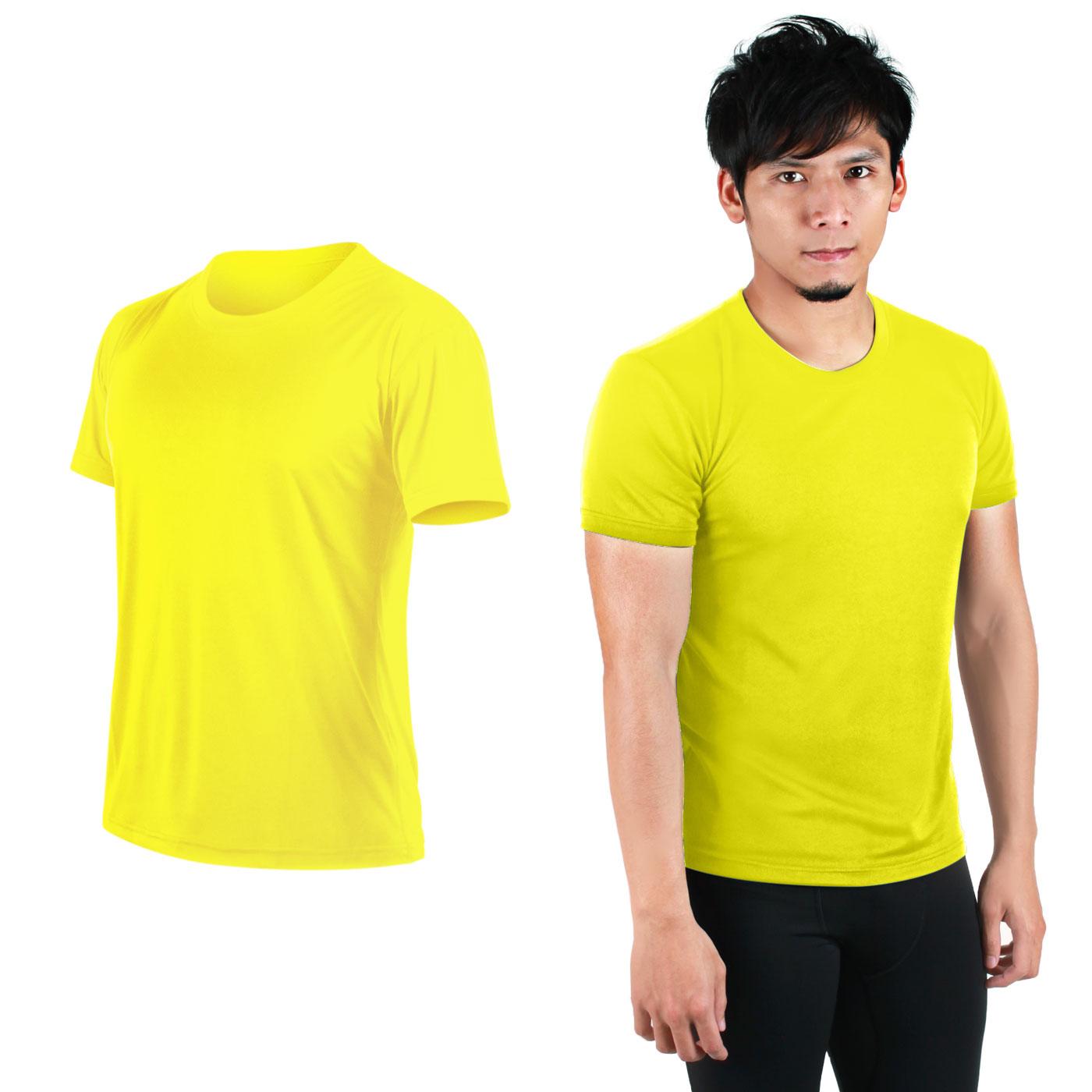 HODARLA FLARE 100 吸濕排汗衫3108301 - 亮黃