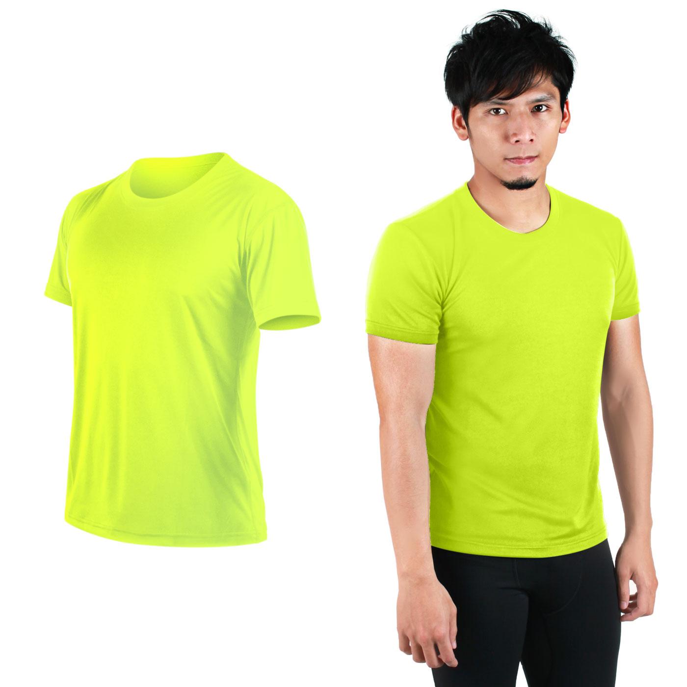 HODARLA FLARE 100 吸濕排汗衫3108301 - 螢光黃