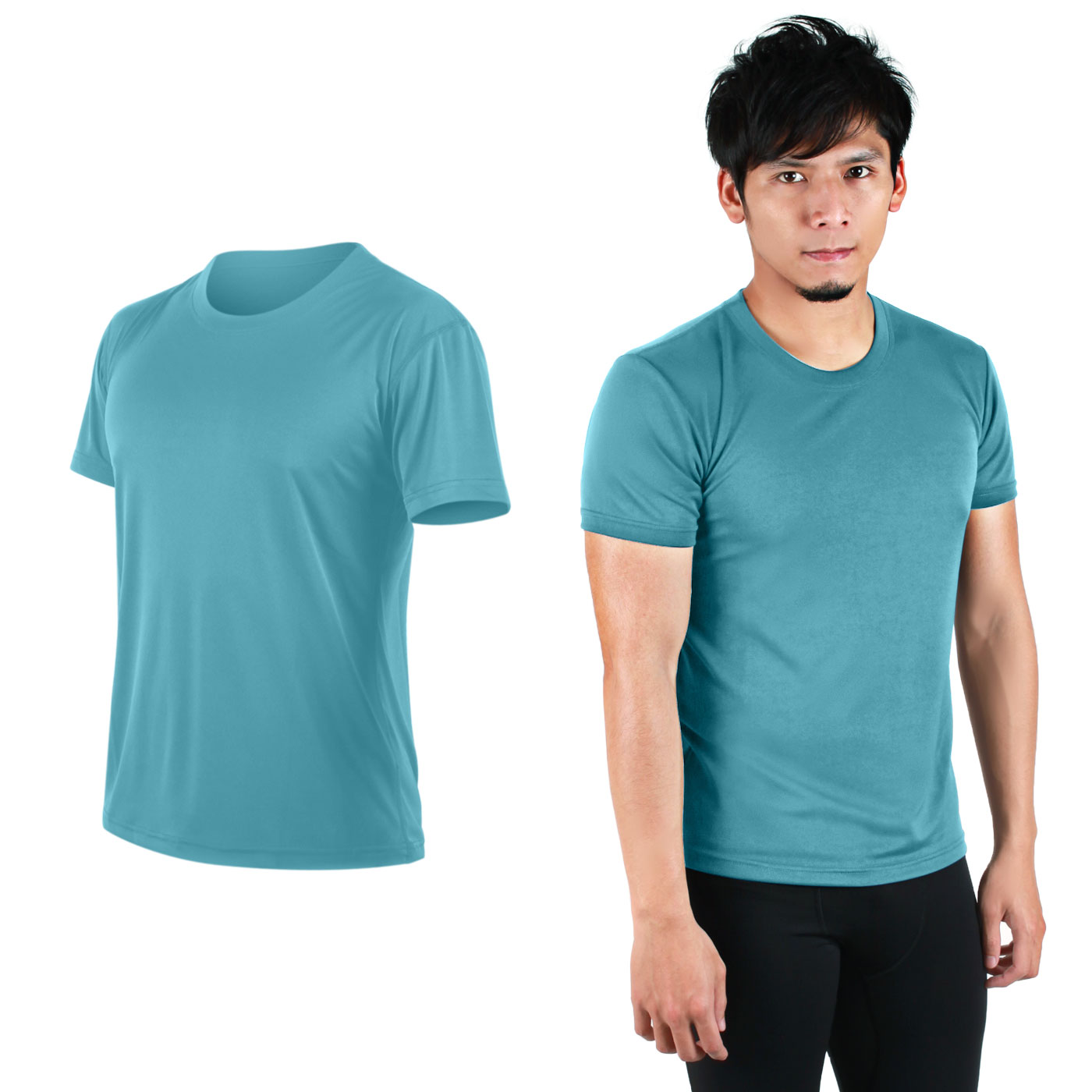 HODARLA FLARE 100 吸濕排汗衫3108301 - 透明水藍