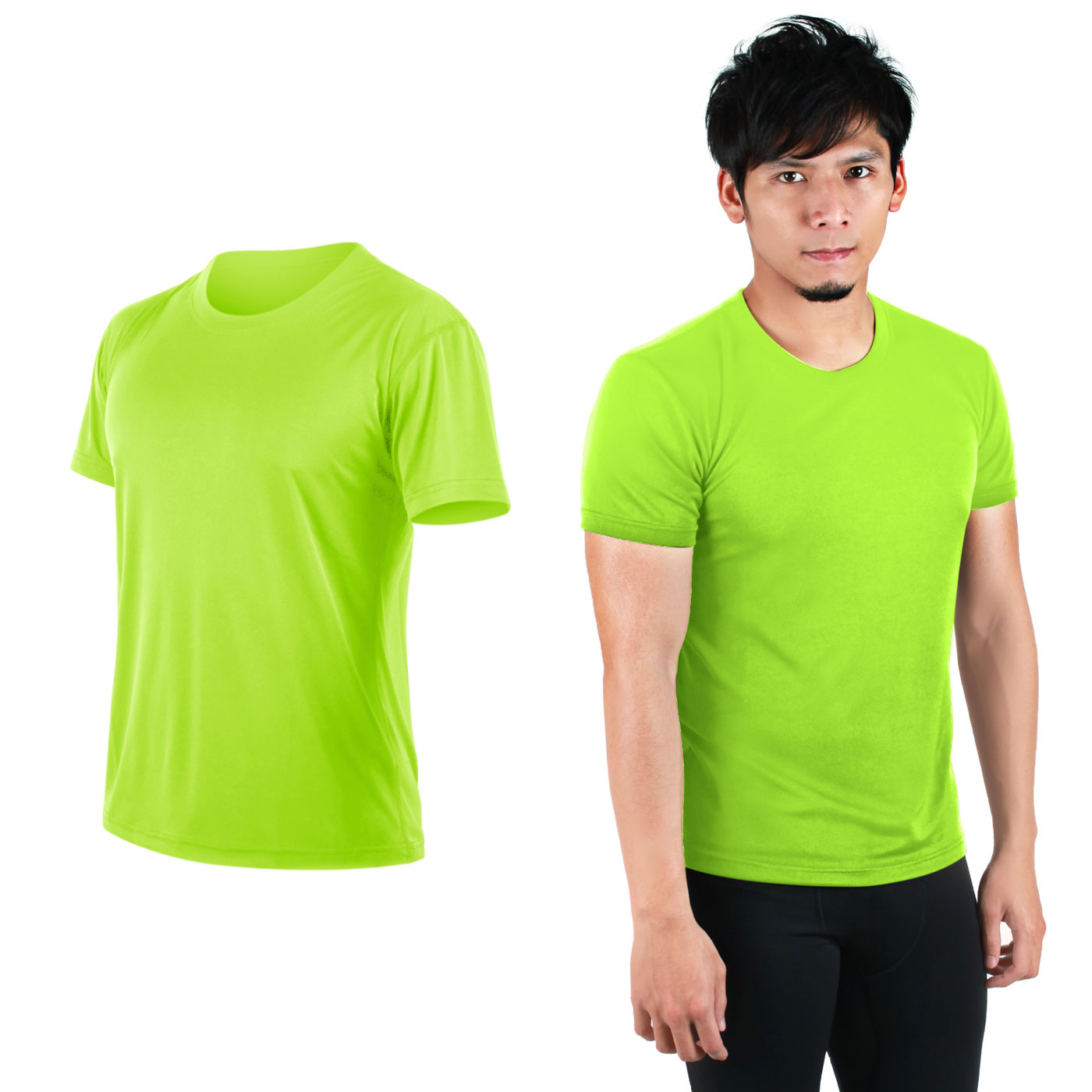 HODARLA FLARE 100 吸濕排汗衫3108301 - 果綠