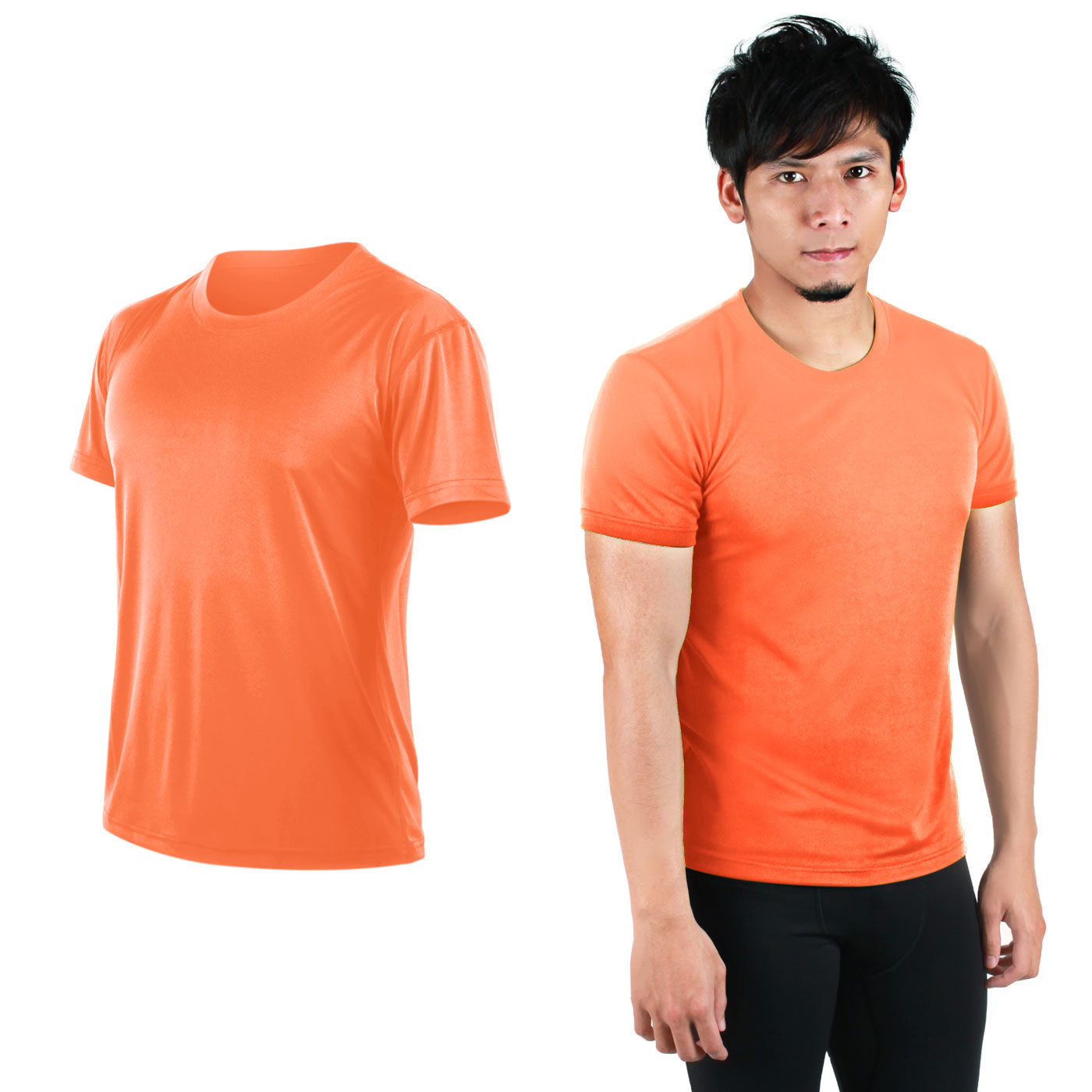 HODARLA FLARE 100 吸濕排汗衫3108301 - 螢光橘