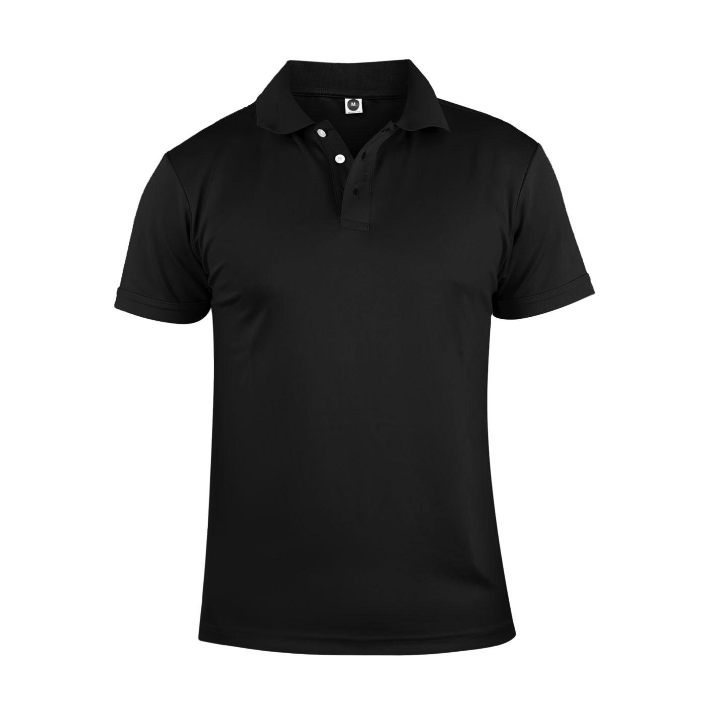 HODARLA 彈力涼感短袖POLO衫 3113901 - 黑