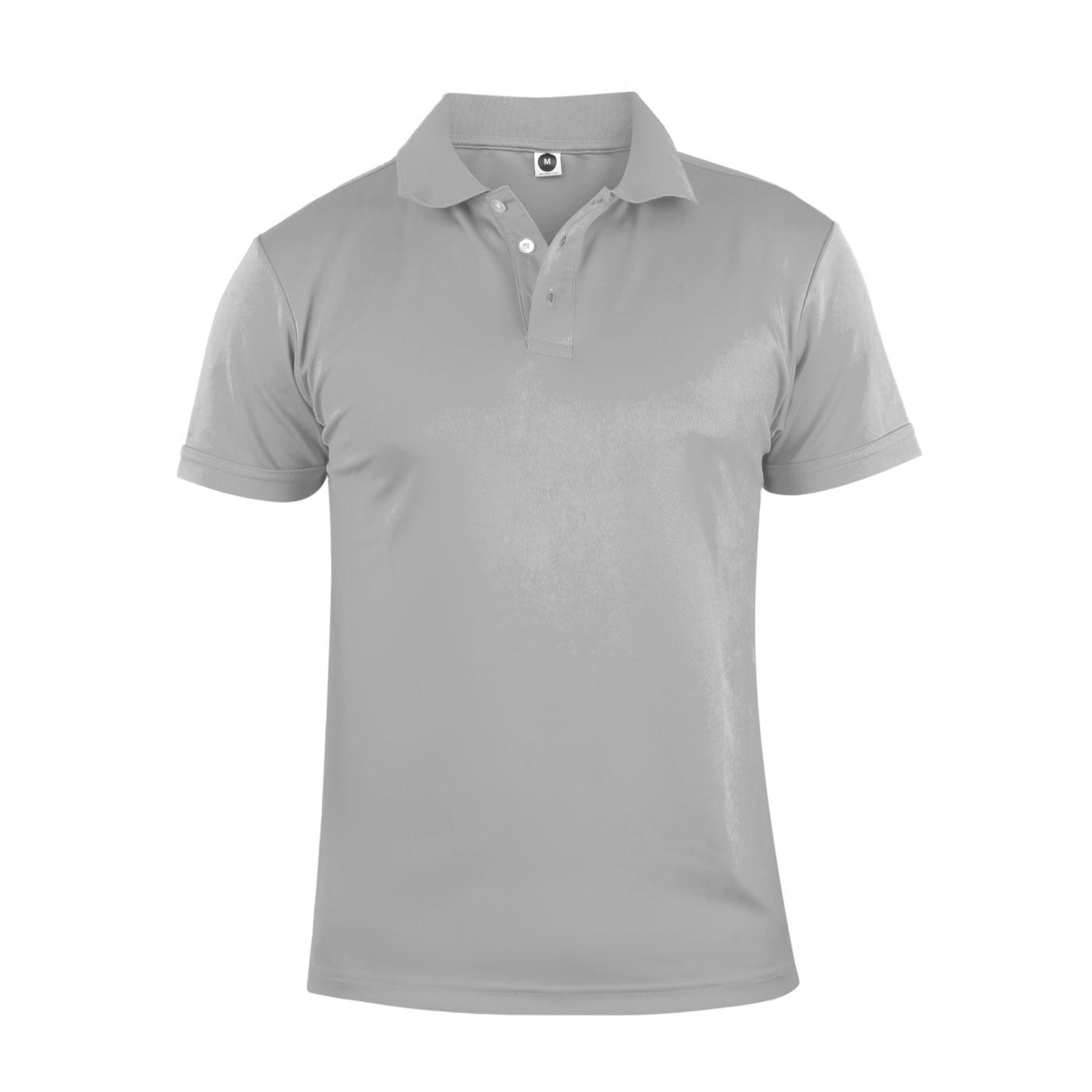 HODARLA 彈力涼感短袖POLO衫 3113901 - 淺灰