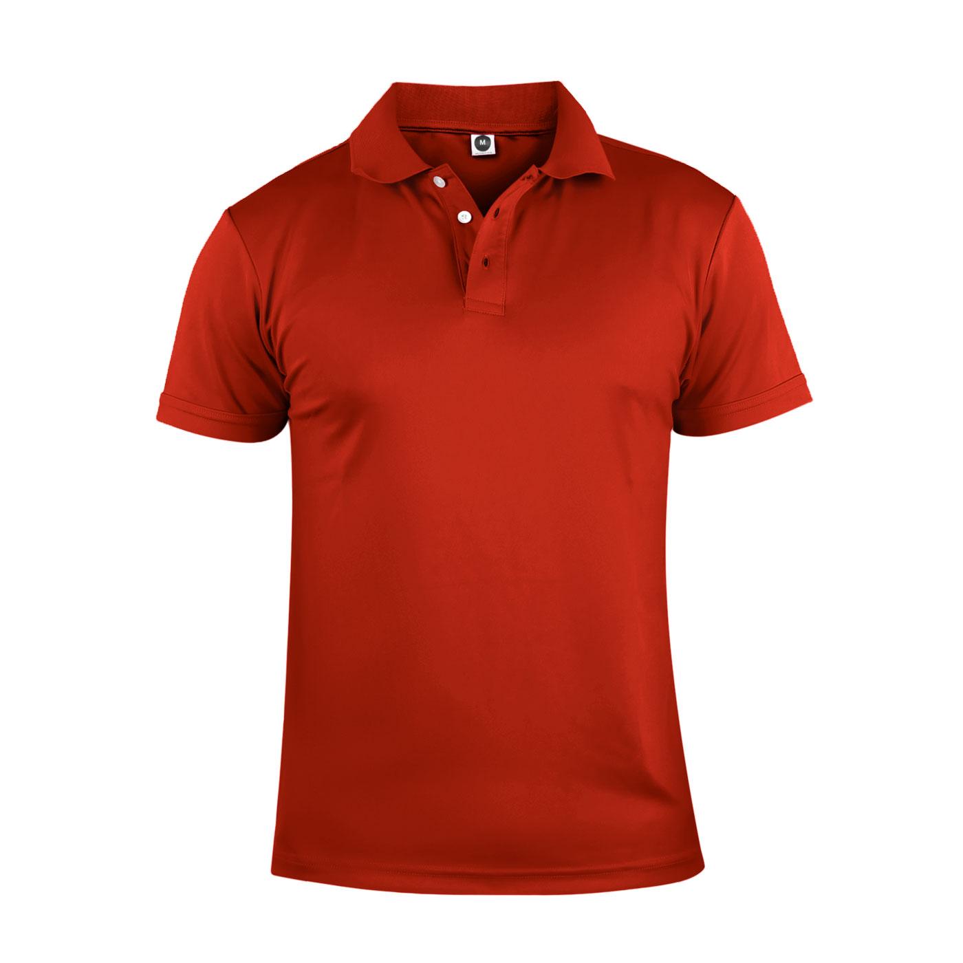 HODARLA 彈力涼感短袖POLO衫 3113901 - 紅