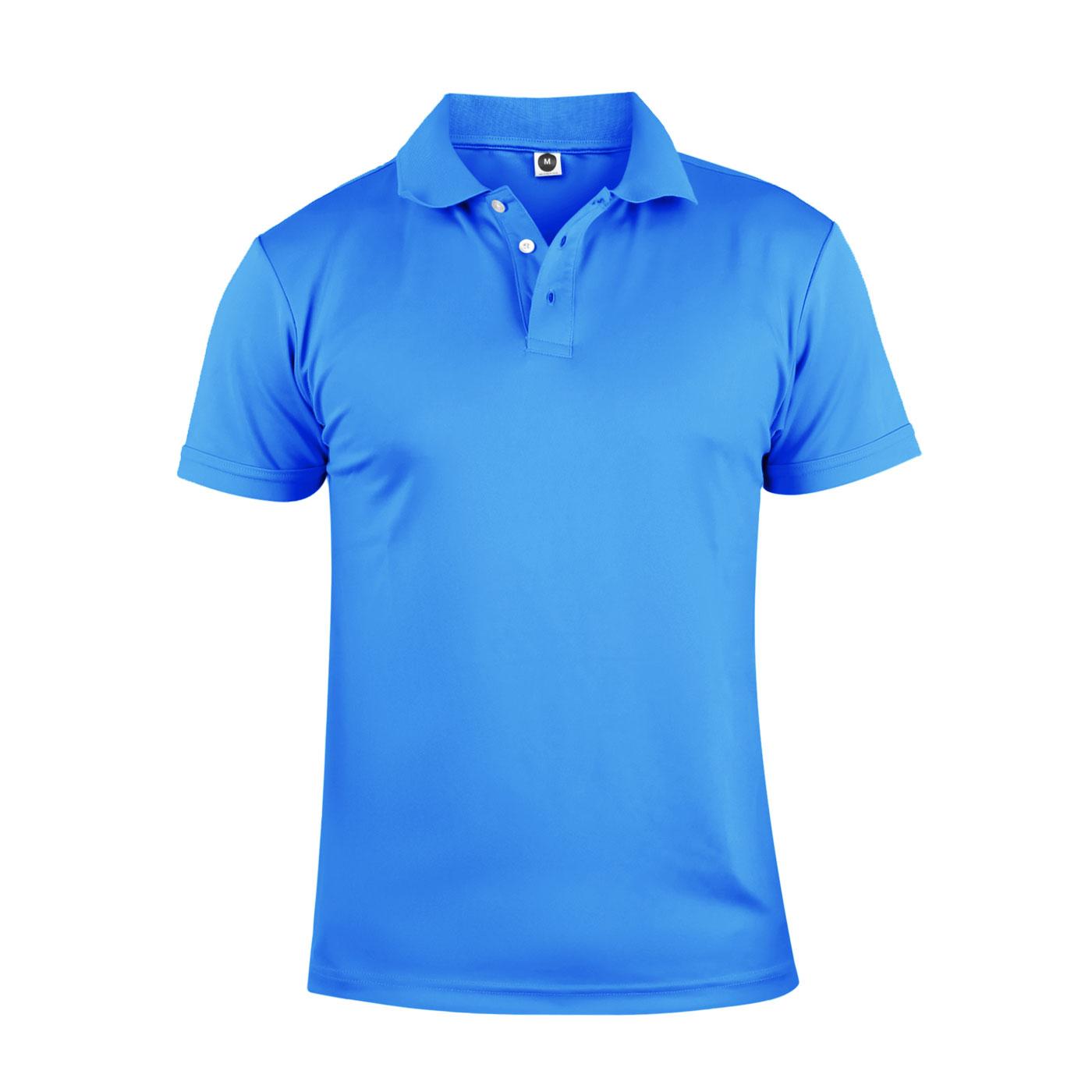 HODARLA 彈力涼感短袖POLO衫 3113901 - 亮藍