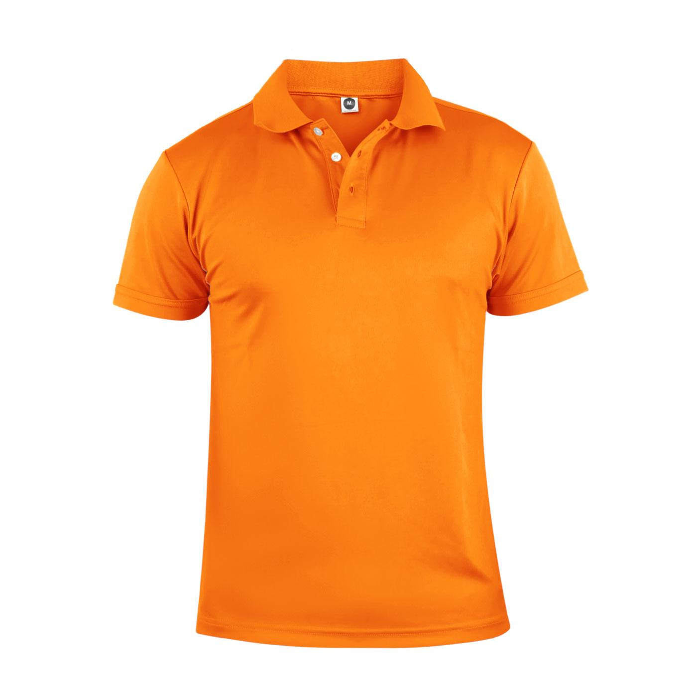 HODARLA 彈力涼感短袖POLO衫 3113901 - 橘