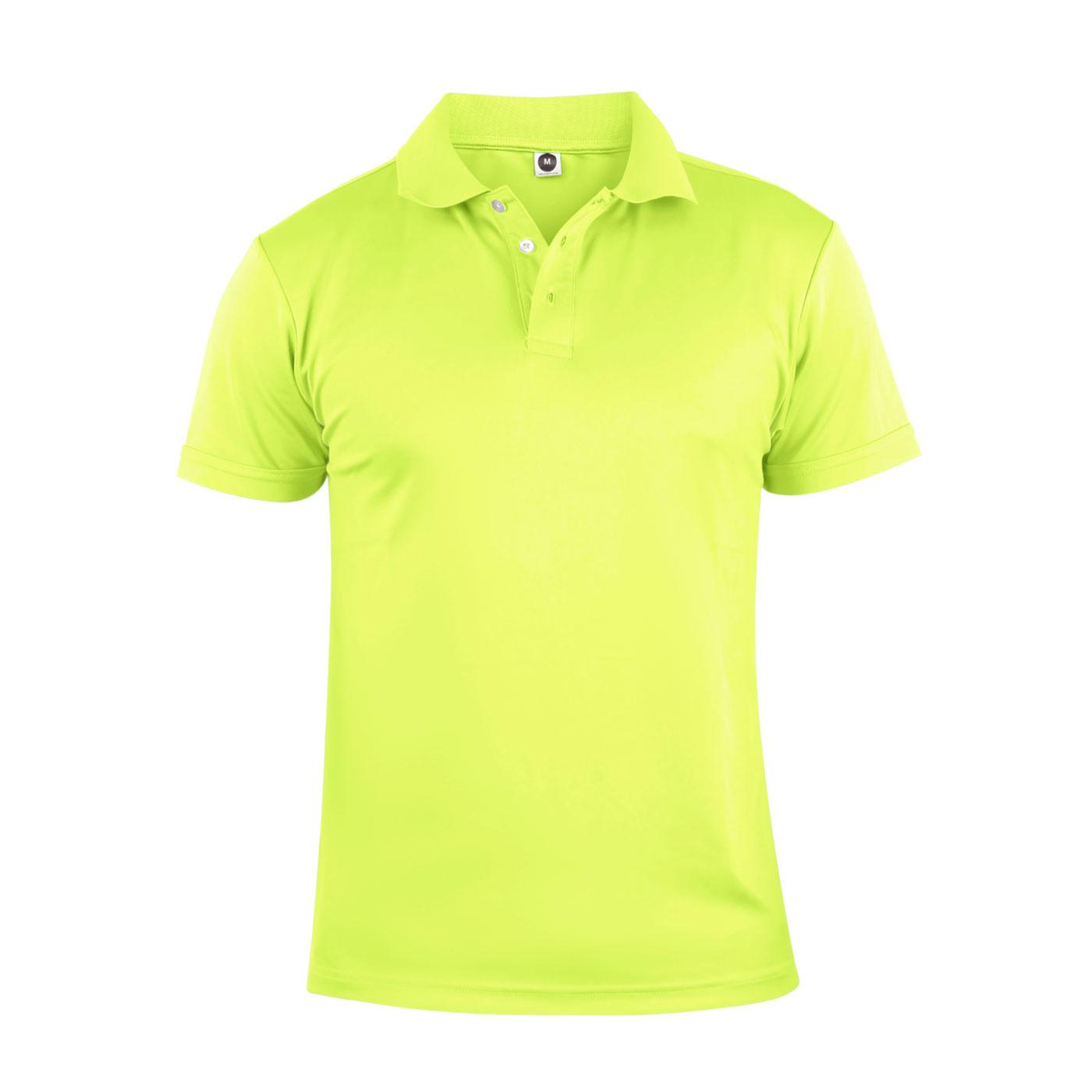 HODARLA 彈力涼感短袖POLO衫 3113901 - 螢光黃
