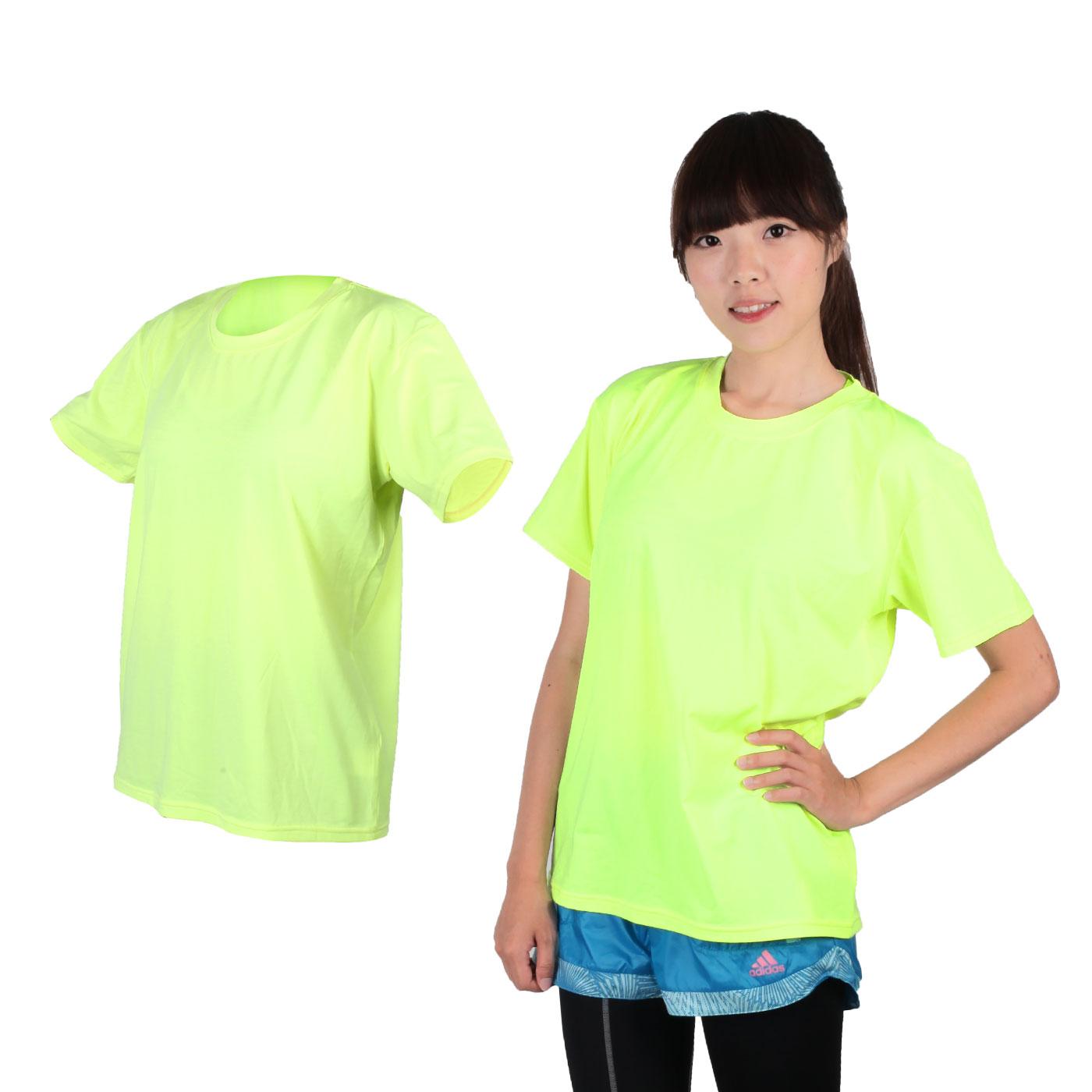 HODARLA 麻花機能運動衣 3115005 - 麻花螢光黃