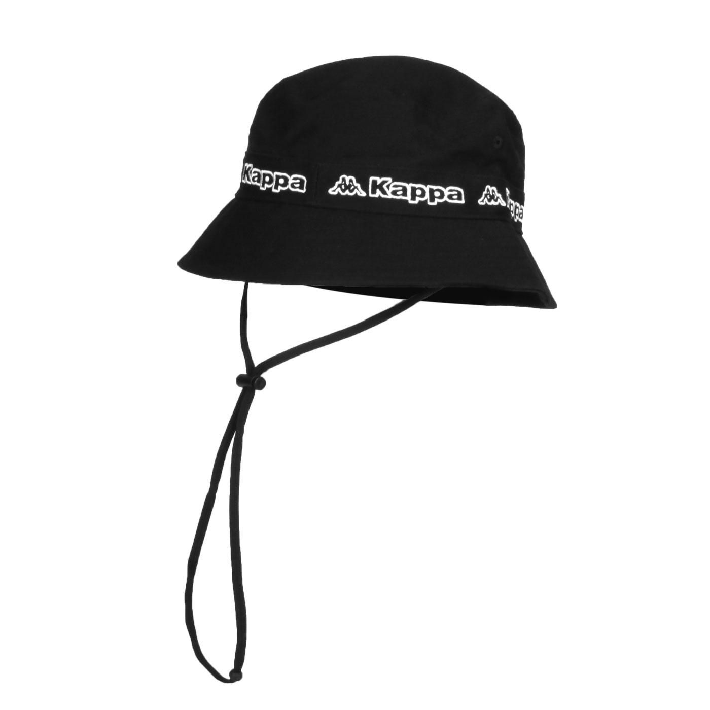 KAPPA 運動休閒帽 3115TYW-B55 - 黑白